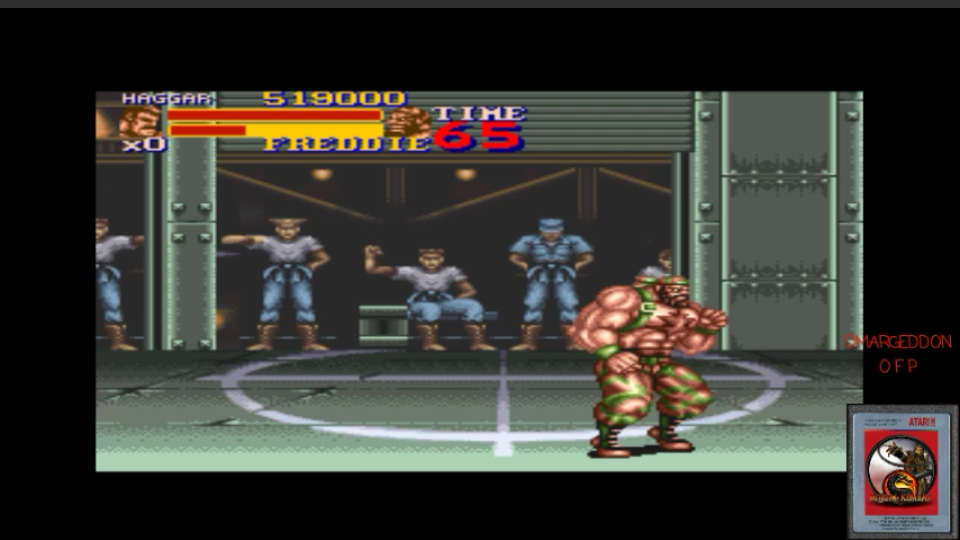 omargeddon: Final Fight 2 (SNES/Super Famicom Emulated) 519,000 points on 2017-02-22 01:57:26