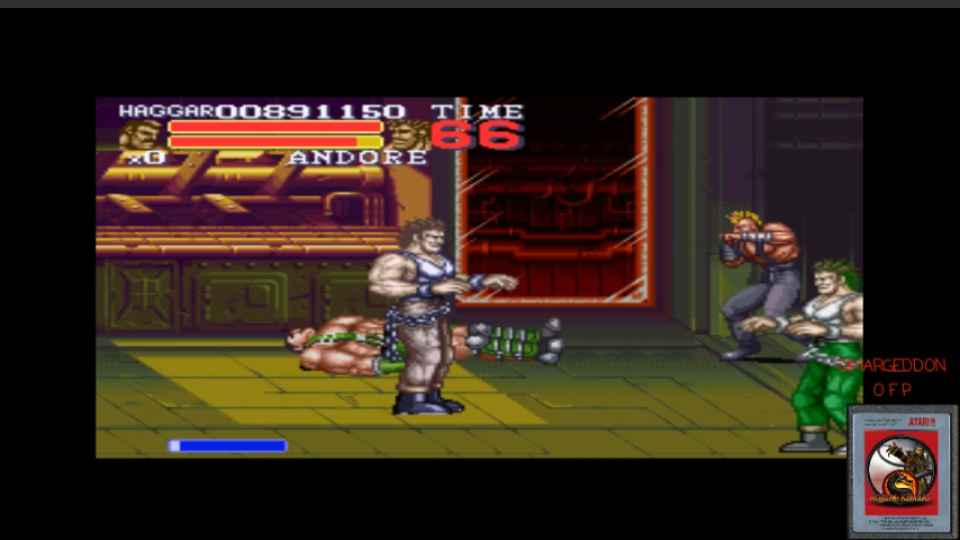 omargeddon: Final Fight 3 (SNES/Super Famicom Emulated) 891,150 points on 2017-02-24 07:10:59