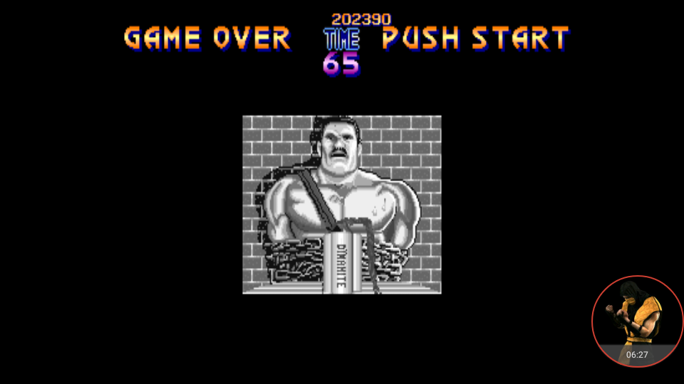 omargeddon: Final Fight (Arcade Emulated / M.A.M.E.) 202,390 points on 2017-12-18 21:34:24