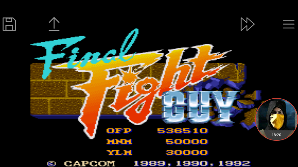 omargeddon: Final Fight GUY (SNES/Super Famicom Emulated) 536,510 points on 2018-01-11 21:59:26