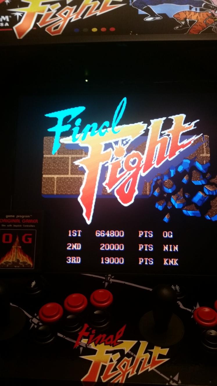 OriginalGamer: Final Fight (Jamma Pandora