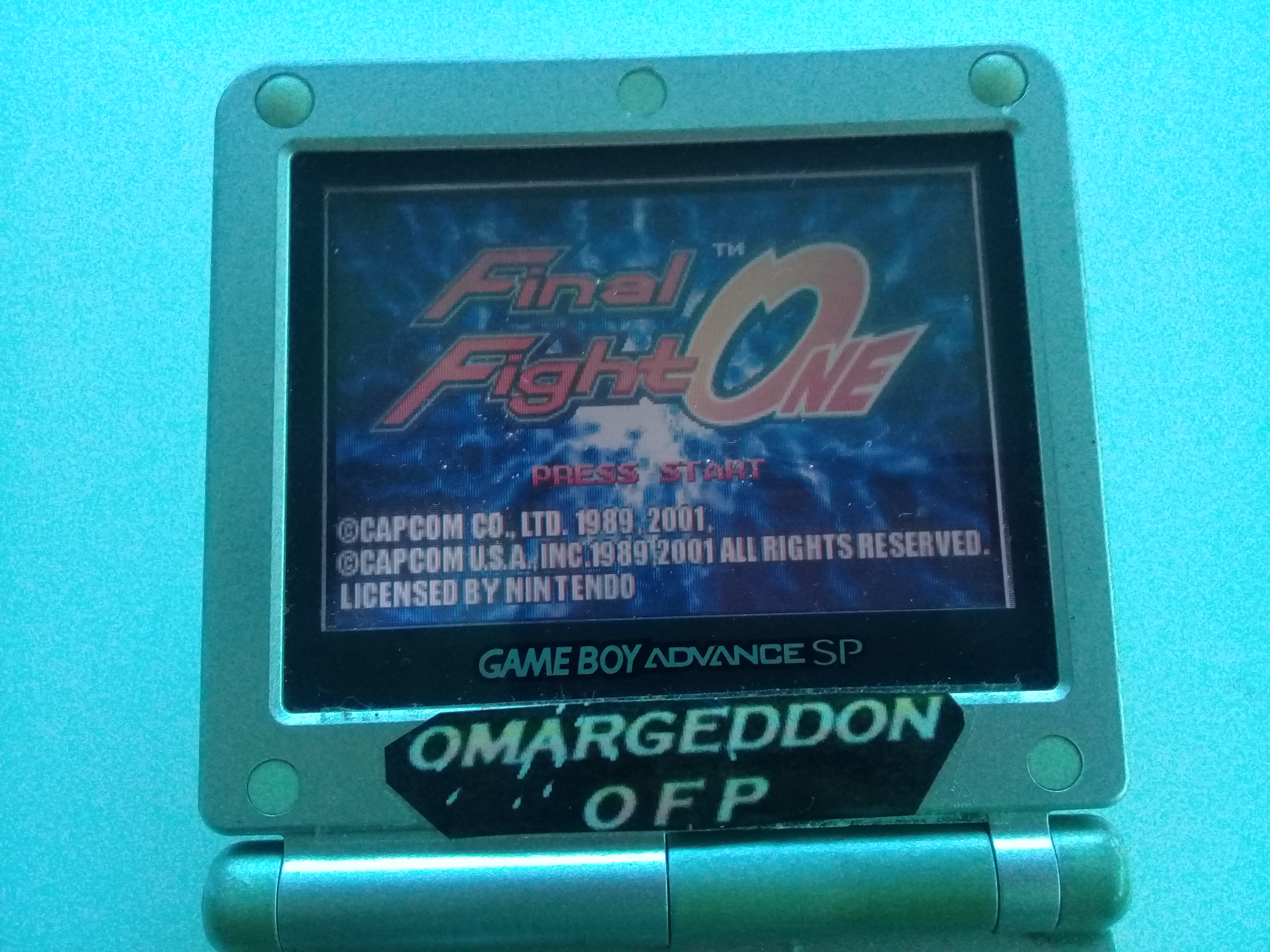 omargeddon: Final Fight One [Very Easy] (GBA) 582,260 points on 2019-05-19 15:08:57