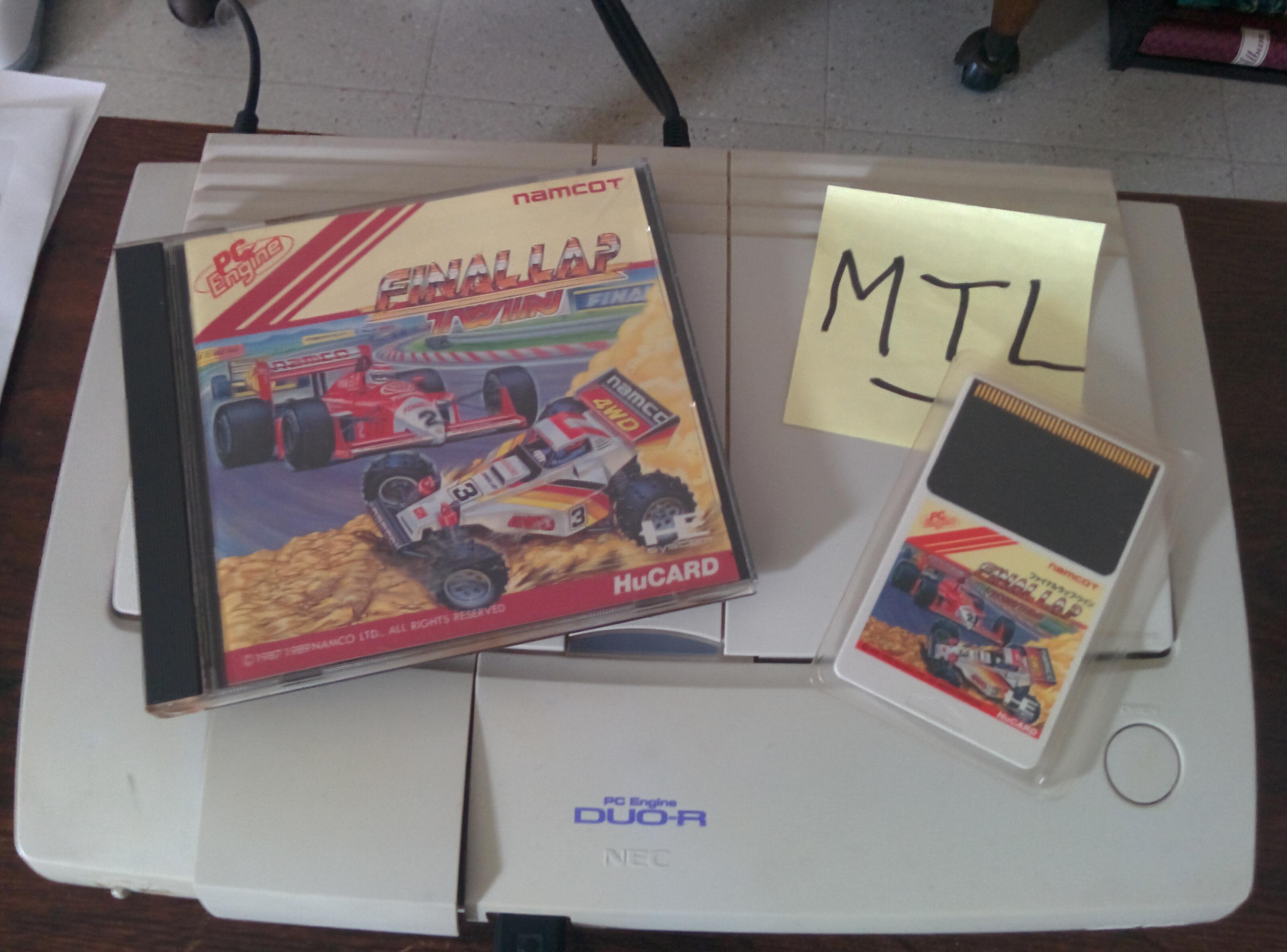 Mantalow: Final Lap Twin [Test/ 1 Lap/ F3000/ Australia] (TurboGrafx-16/PC Engine) 0:00:45.27 points on 2016-02-08 09:59:51
