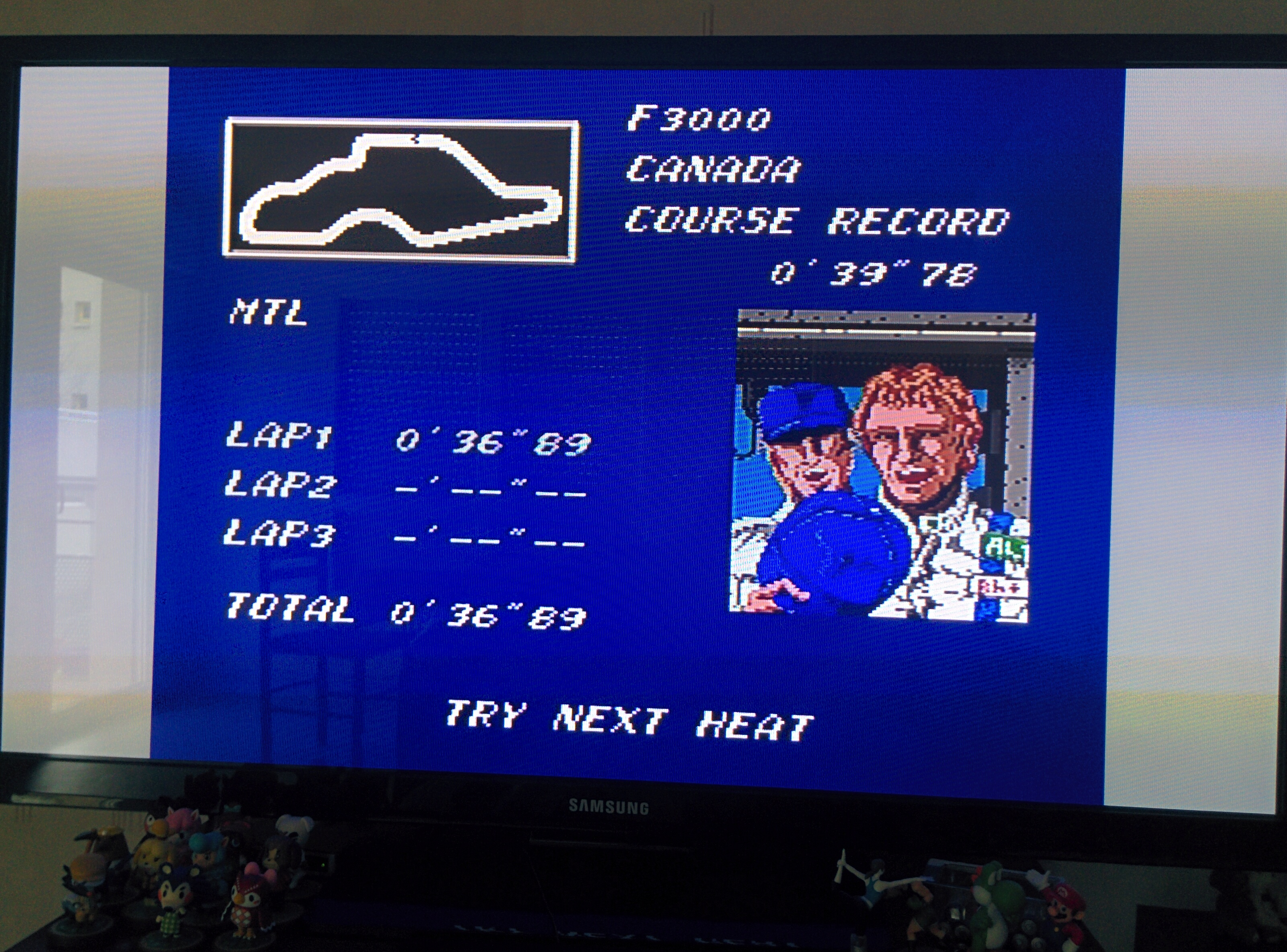 Mantalow: Final Lap Twin [Test/ 1 Lap/ F3000/ Canada] (TurboGrafx-16/PC Engine) 0:00:36.89 points on 2016-02-08 09:16:42
