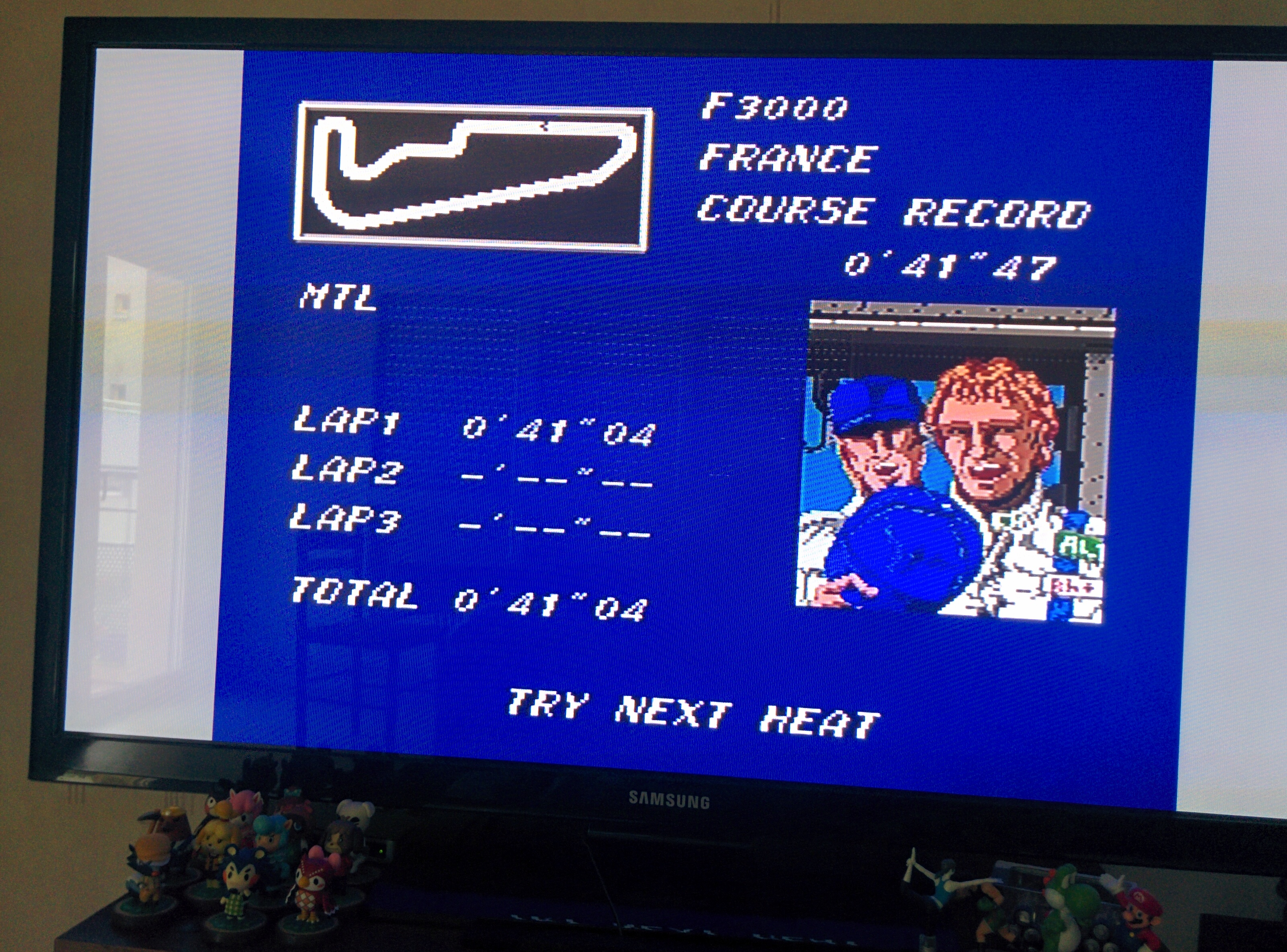 Mantalow: Final Lap Twin [Test/ 1 Lap/ F3000/ France] (TurboGrafx-16/PC Engine) 0:00:41.04 points on 2016-02-08 09:24:09