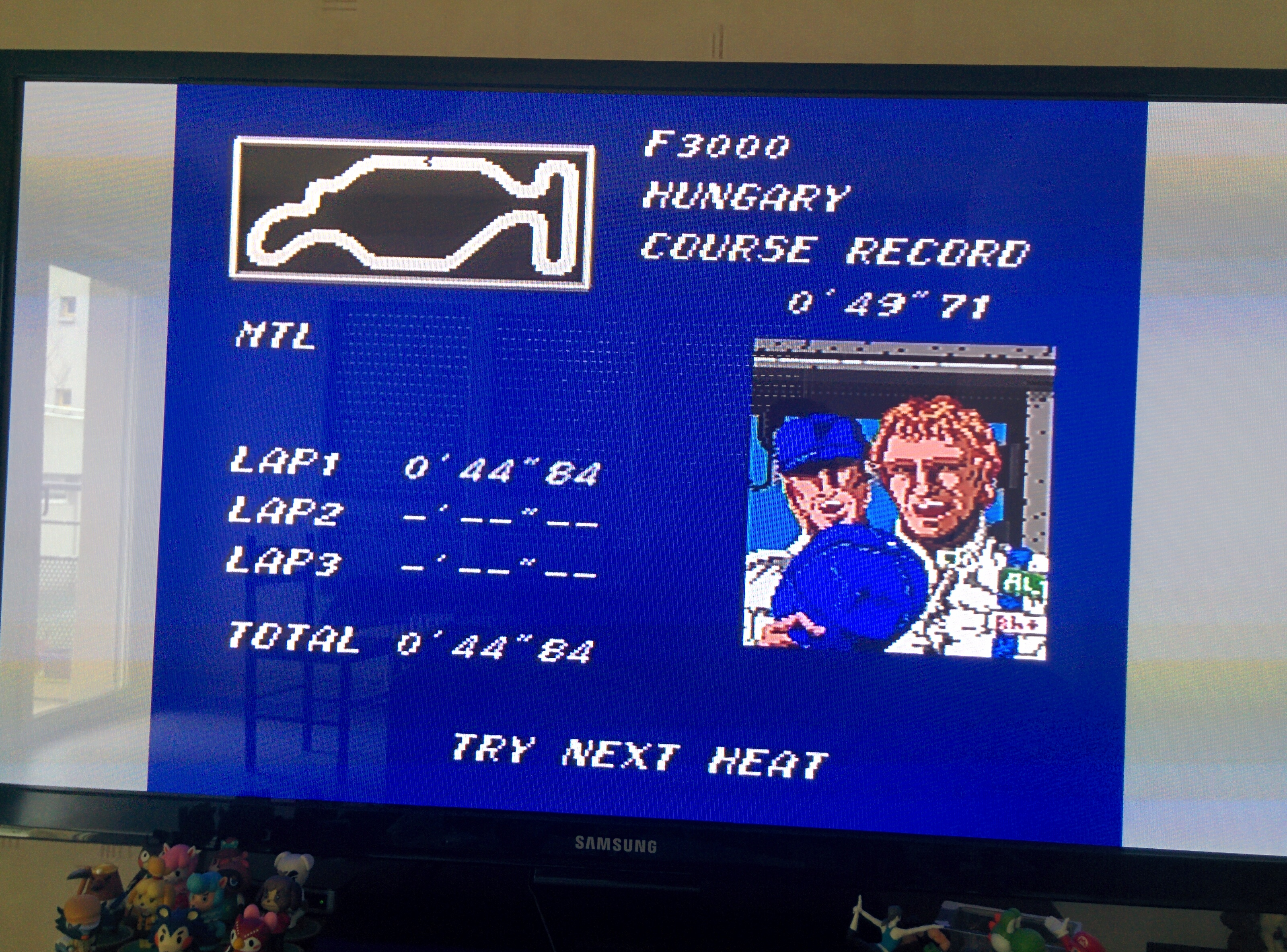 Mantalow: Final Lap Twin [Test/ 1 Lap/ F3000/ Hungary] (TurboGrafx-16/PC Engine) 0:00:44.84 points on 2016-02-10 01:07:43
