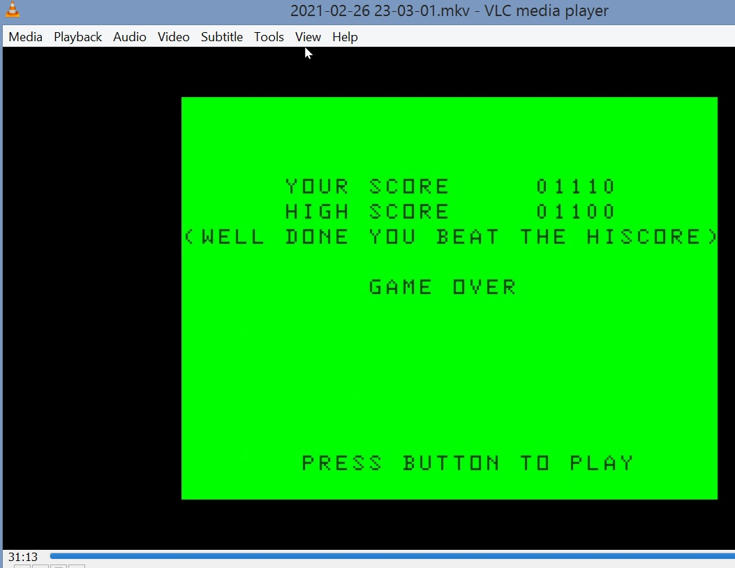LuigiRuffolo: Fingers (Dragon 32/64 Emulated) 1,110 points on 2021-02-26 17:12:30