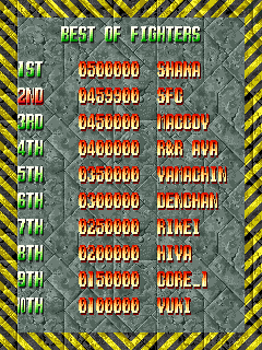 baldbull: Fire Barrel (Arcade Emulated / M.A.M.E.) 459,900 points on 2015-12-26 16:54:26