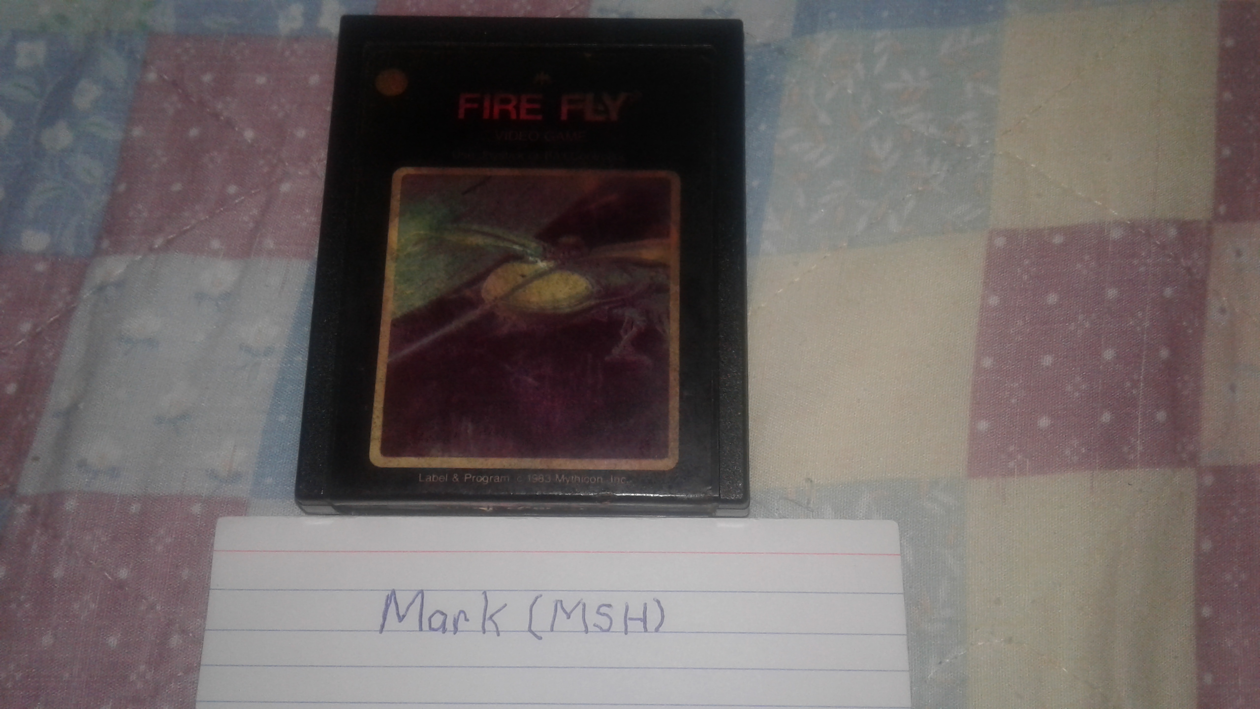 Mark: Fire Fly (Atari 2600) 5,690 points on 2019-03-07 02:21:02
