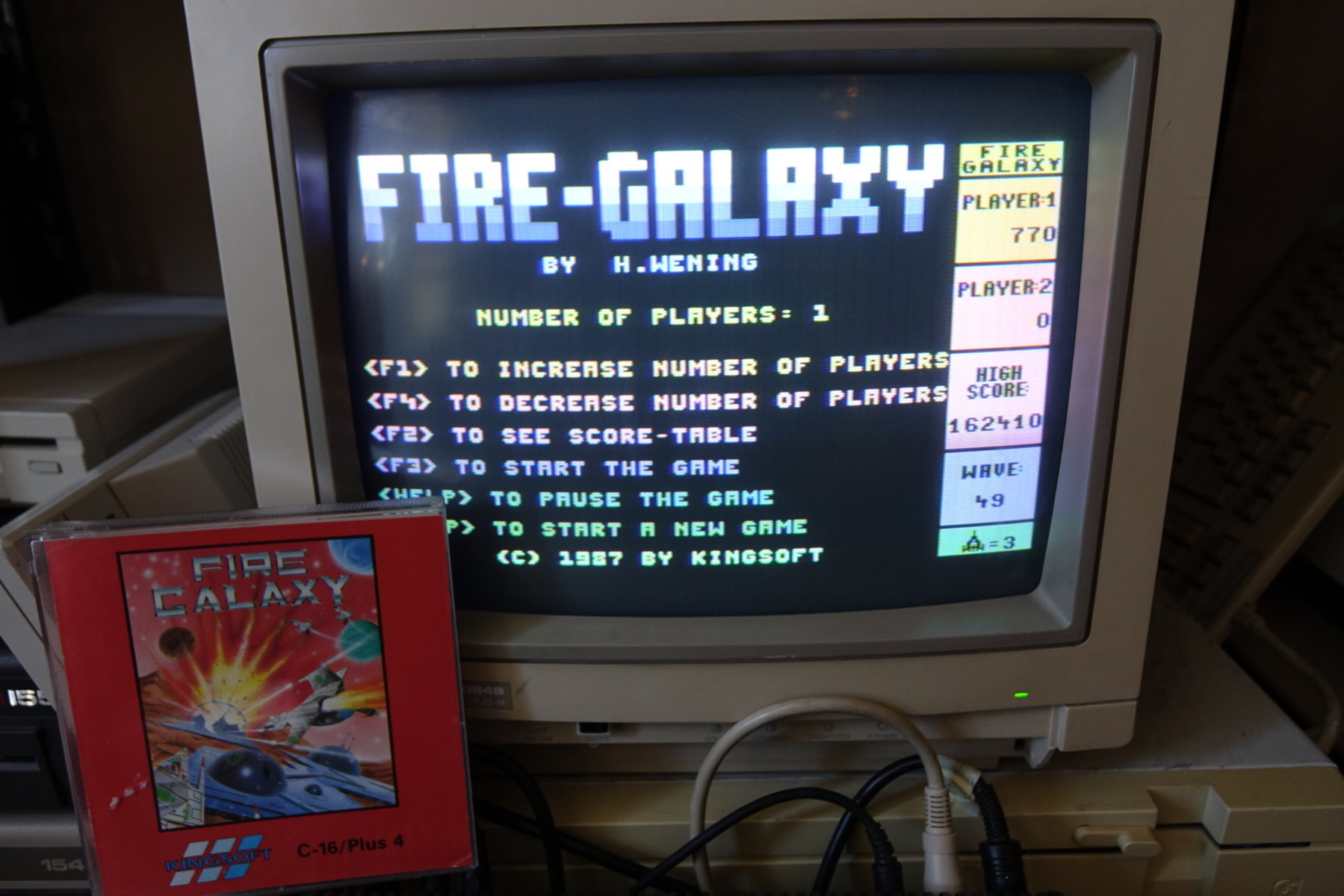 Fire Galaxy [Normal Game] 162,410 points