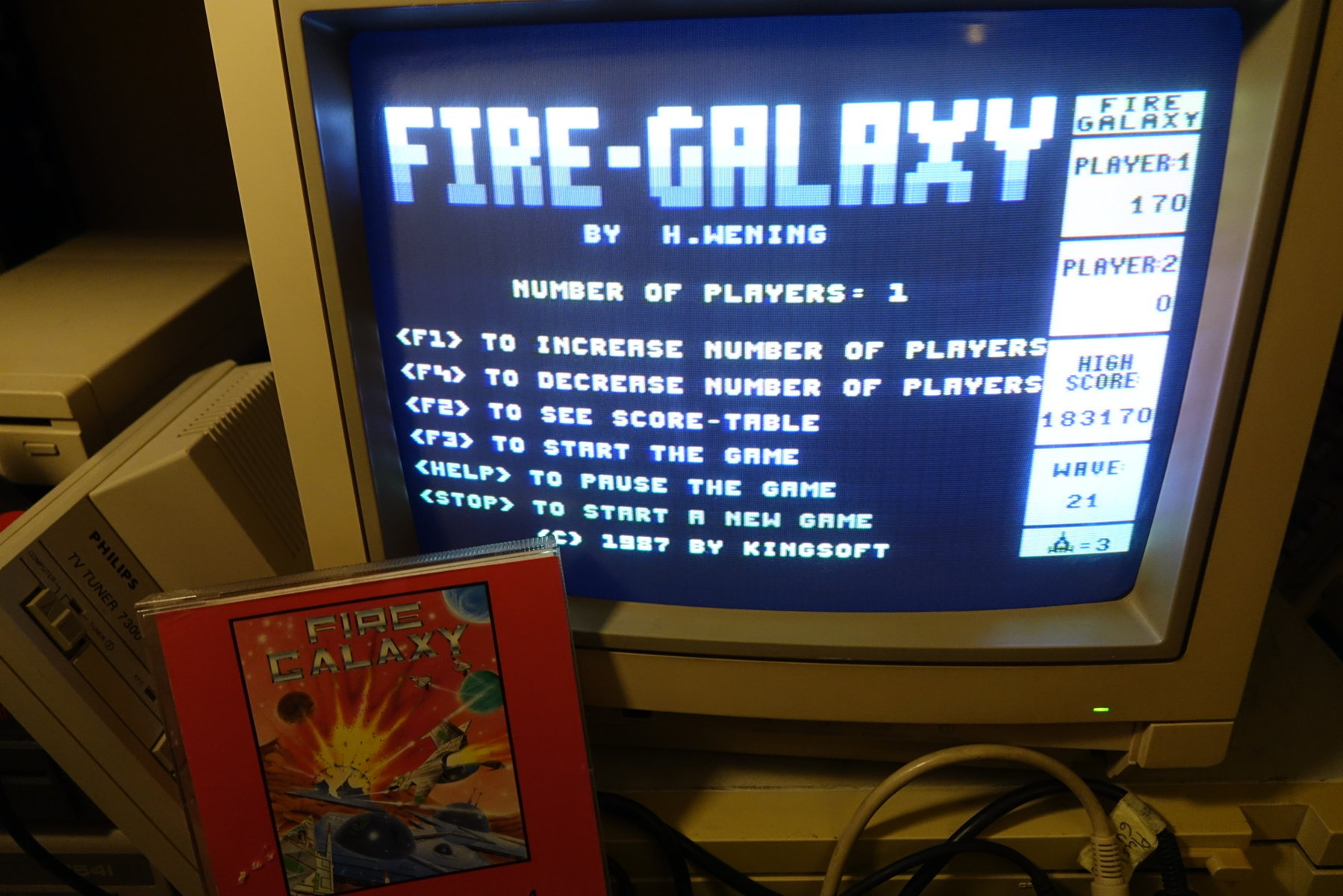 Fire Galaxy [Slow Game] 183,170 points