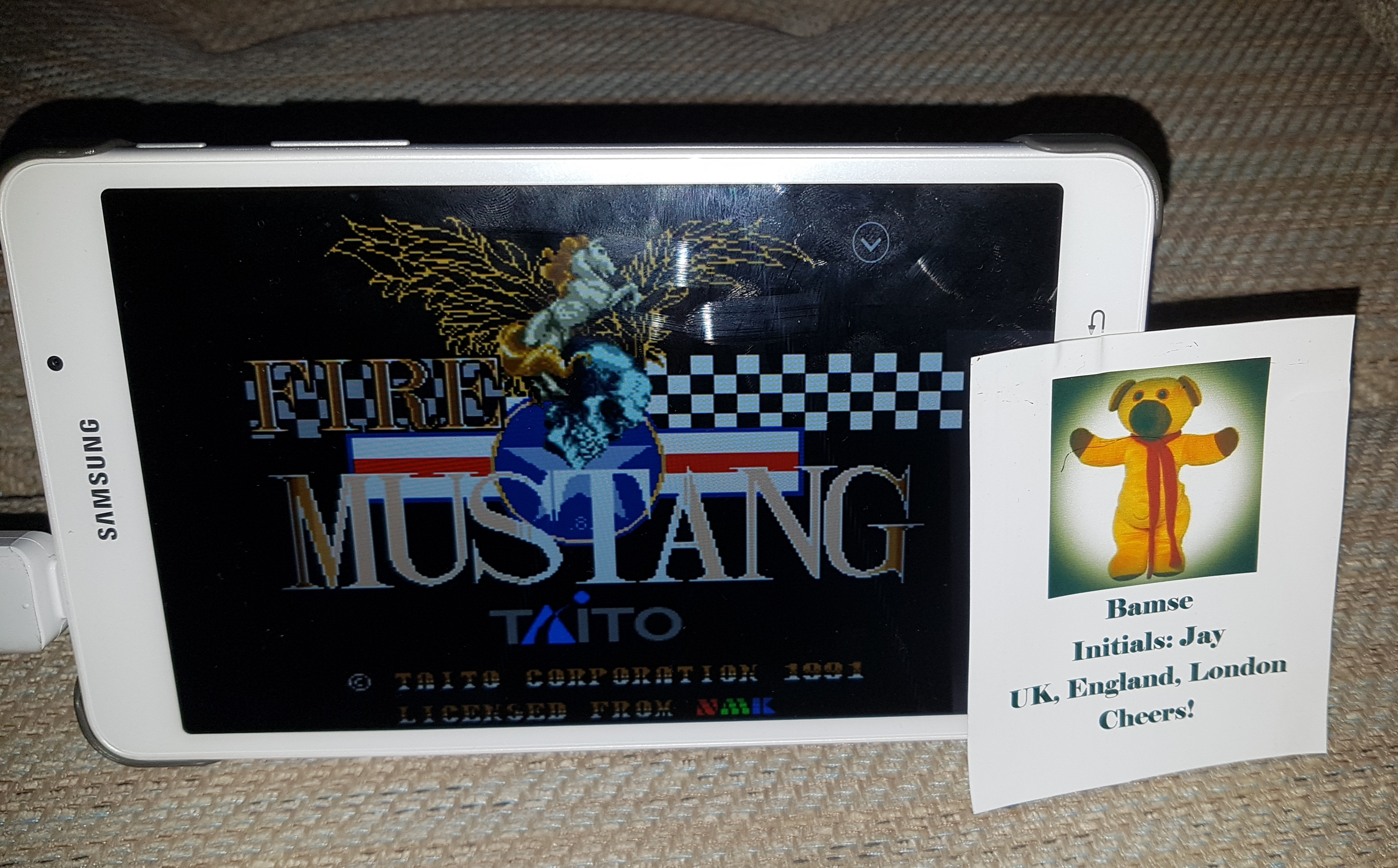 Bamse: Fire Mustang (Sega Genesis / MegaDrive Emulated) 84,200 points on 2019-04-16 13:57:39