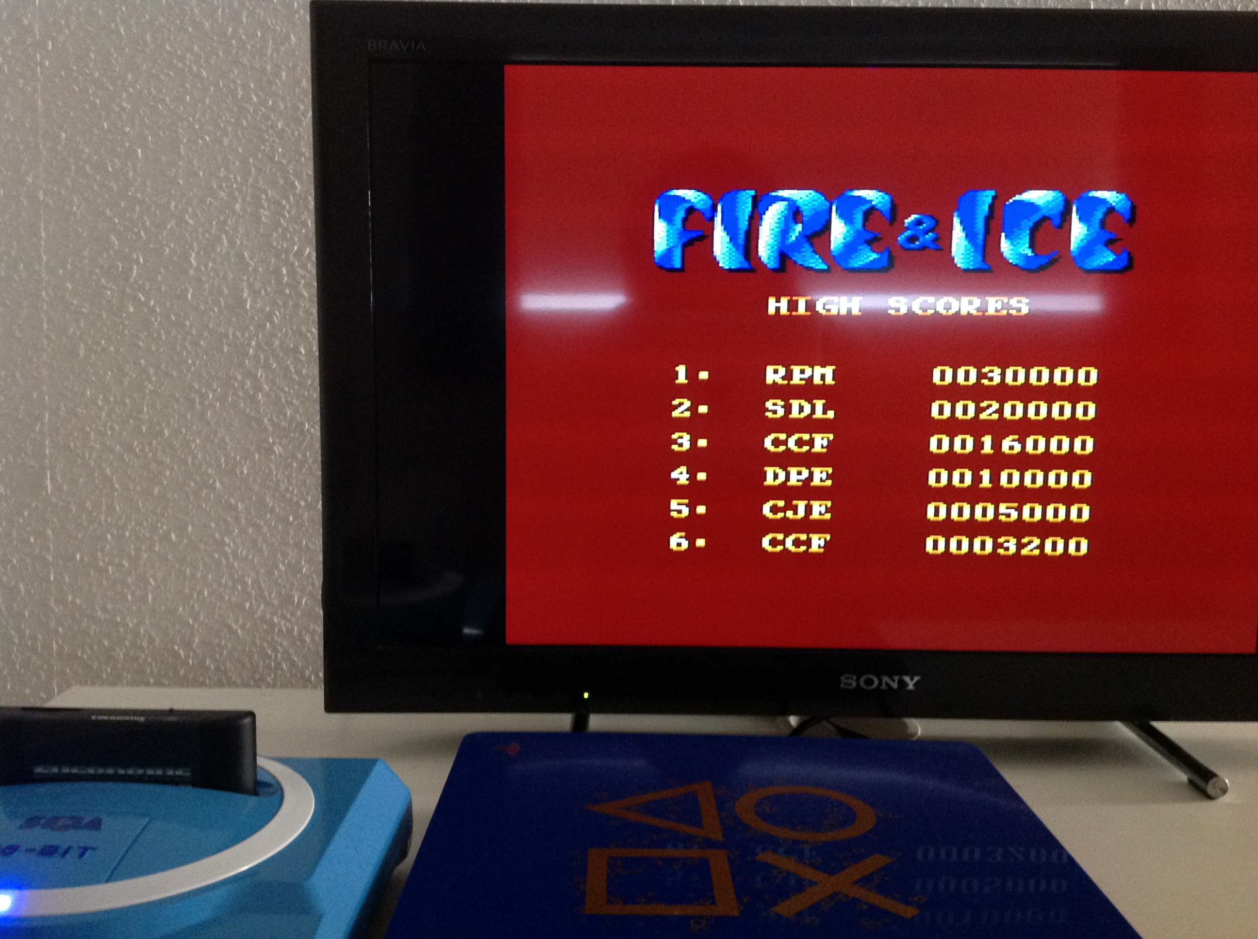 CoCoForest: Fire & Ice (Sega Master System) 16,000 points on 2018-07-24 03:09:15