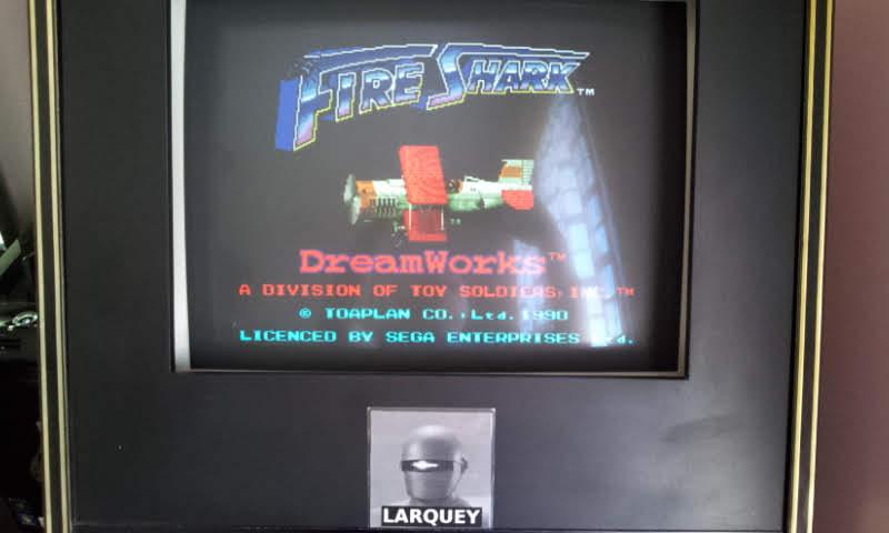 Larquey: Fire Shark [Normal] (Sega Genesis / MegaDrive Emulated) 189,830 points on 2018-05-21 07:50:10