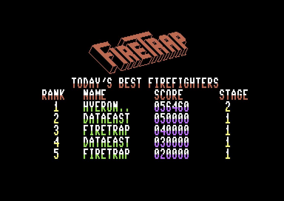 Fire Trap 56,460 points