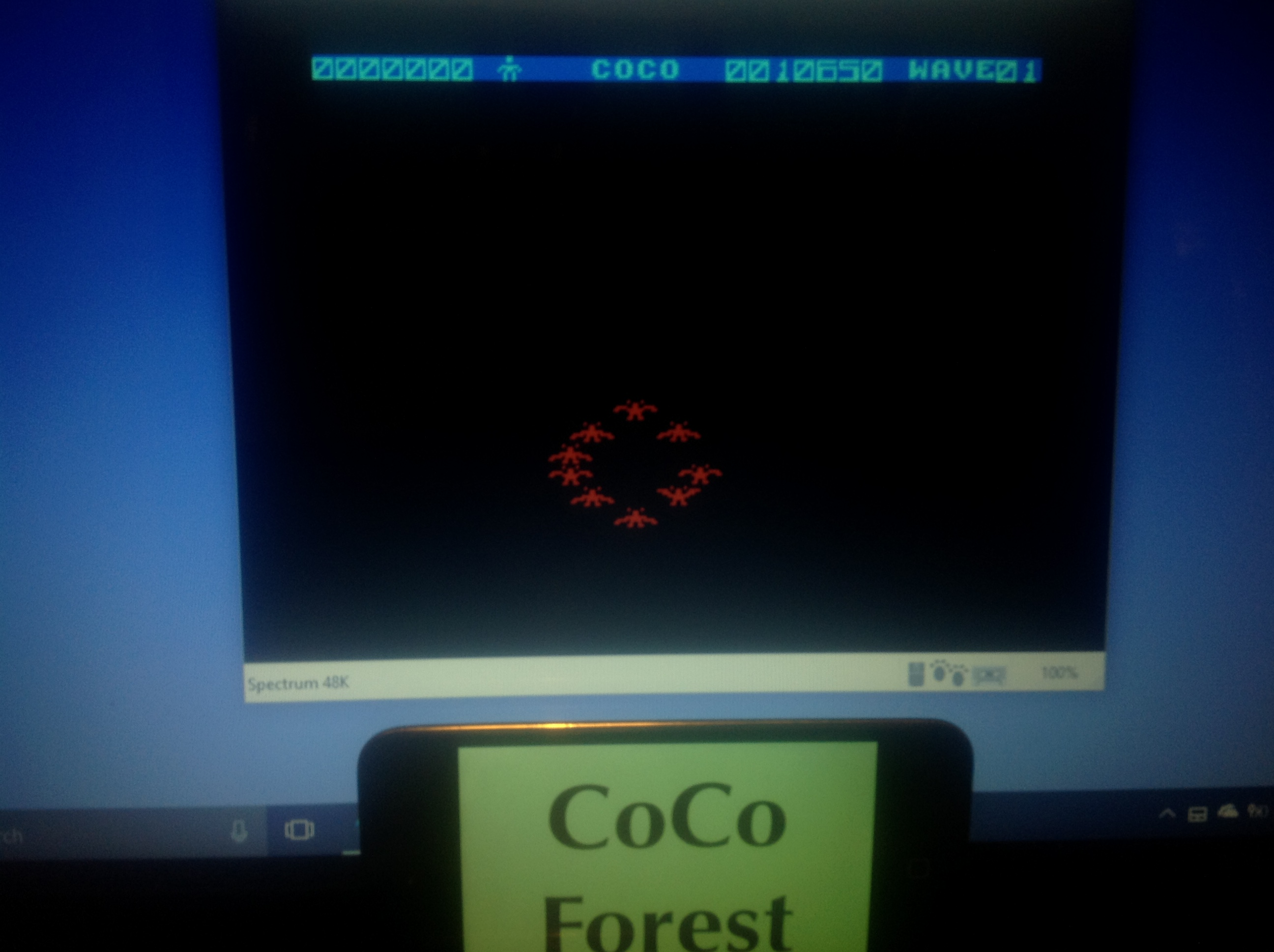 CoCoForest: Firebirds (ZX Spectrum Emulated) 10,650 points on 2018-01-17 12:06:45