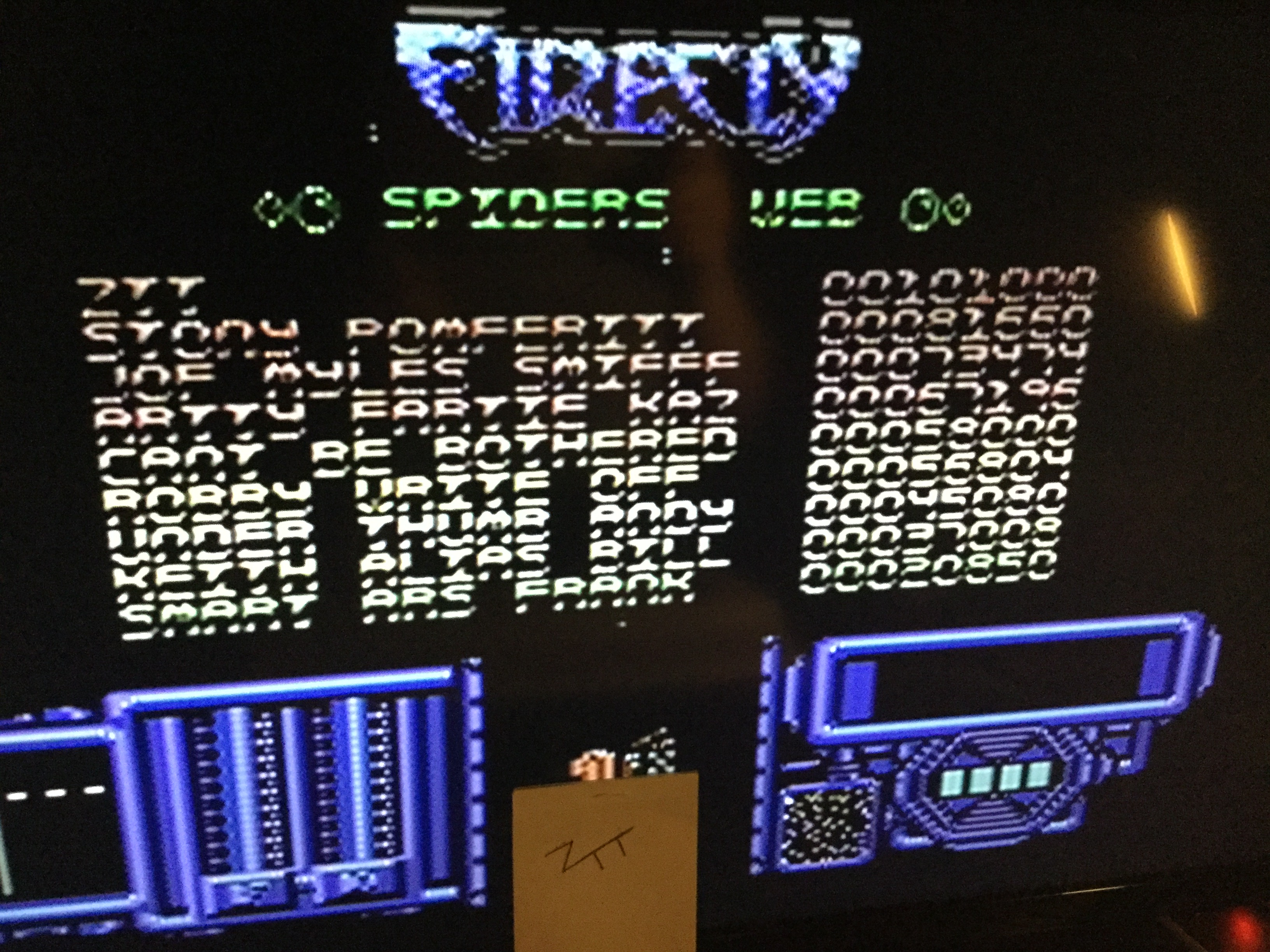 Frankie: Firefly (Commodore 64) 101,000 points on 2019-05-31 15:51:44