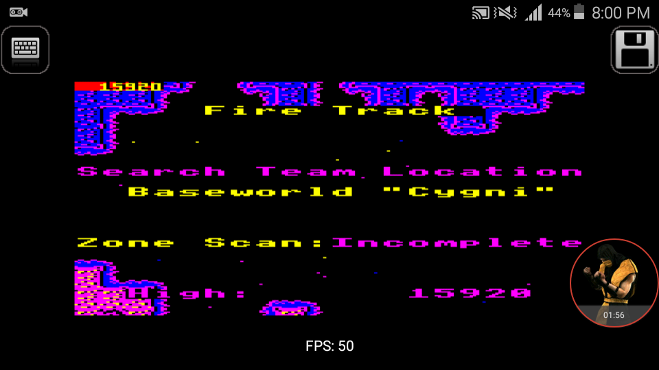 omargeddon: Firetrack (BBC Micro Emulated) 15,920 points on 2017-12-25 21:06:57