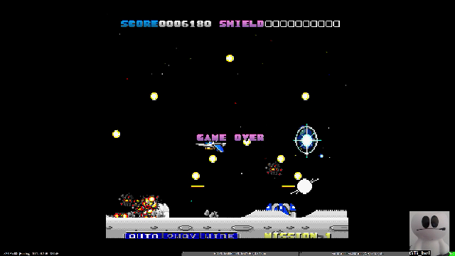 GTibel: First Mission II Final Mission (Sharp X68000 Emulated) 6,180 points on 2019-12-16 10:48:25