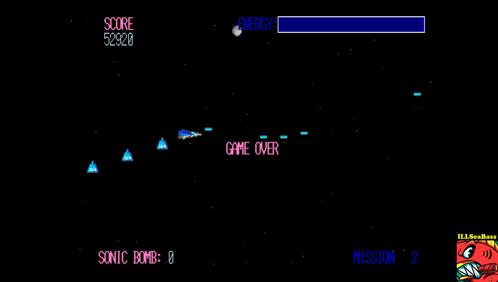 ILLSeaBass: First Mission (Sharp X68000 Emulated) 52,920 points on 2017-06-26 21:28:50