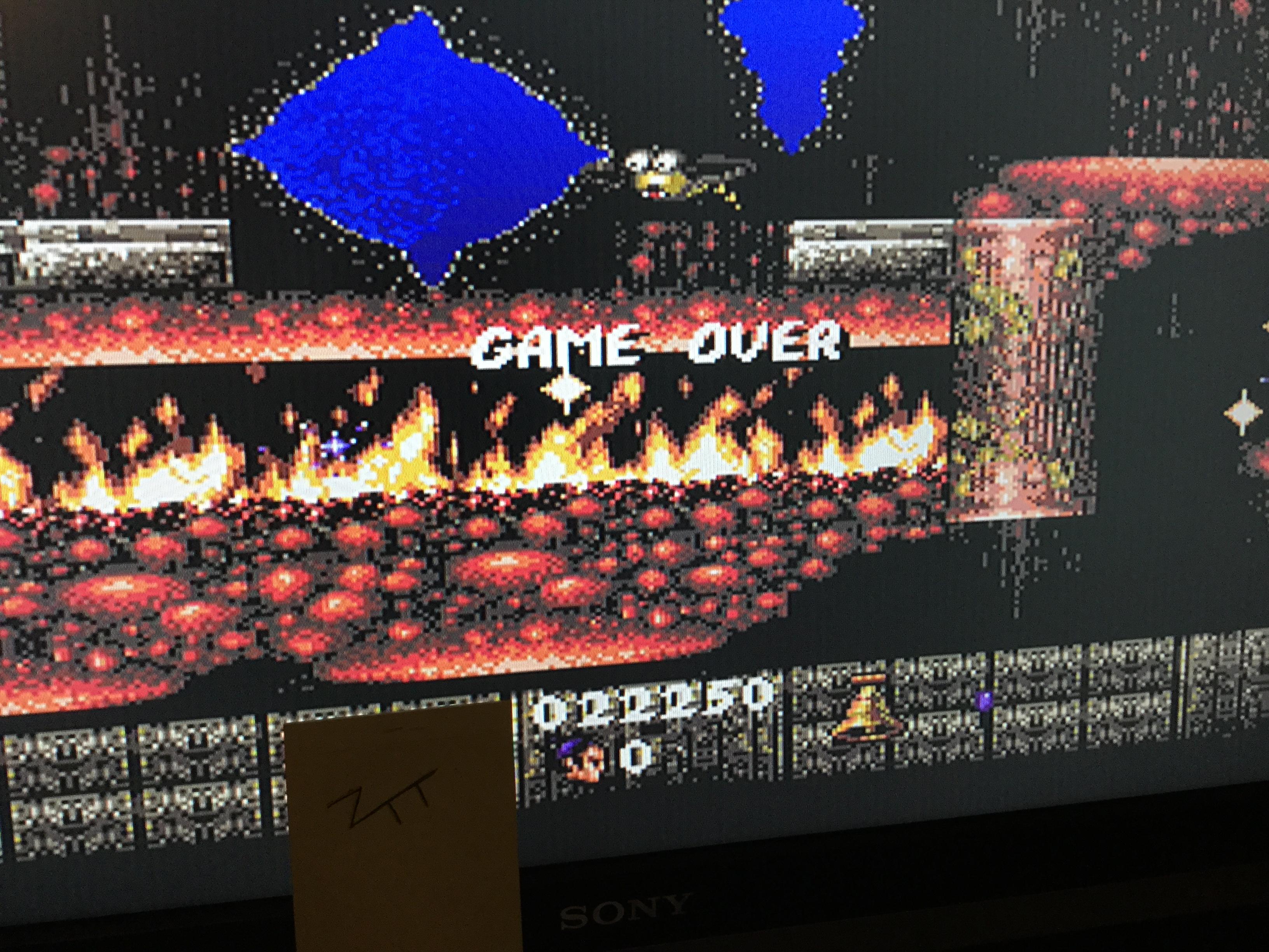 Frankie: First Samurai (Amiga) 22,250 points on 2017-10-12 12:42:48