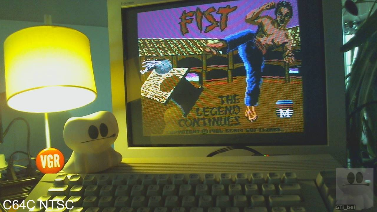 GTibel: Fist II (Commodore 64) 4,200 points on 2020-01-31 05:47:04