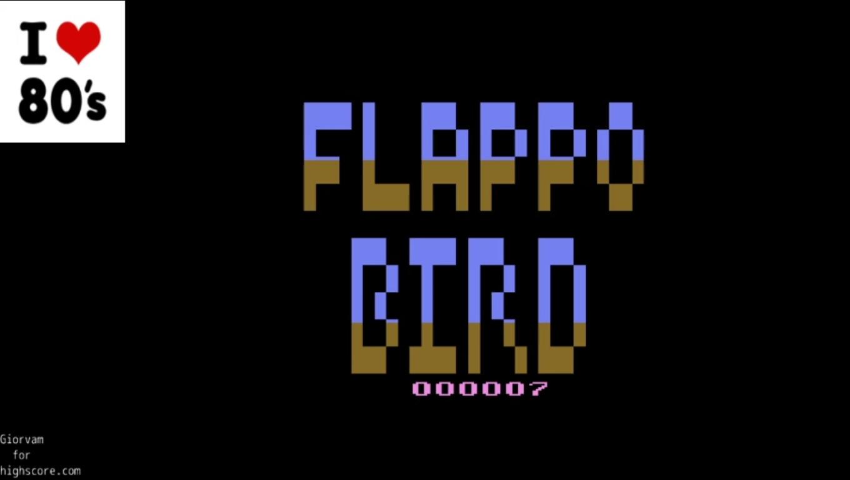 Giorvam: Flappo Bird (Atari 2600 Emulated) 7 points on 2020-01-05 08:56:36
