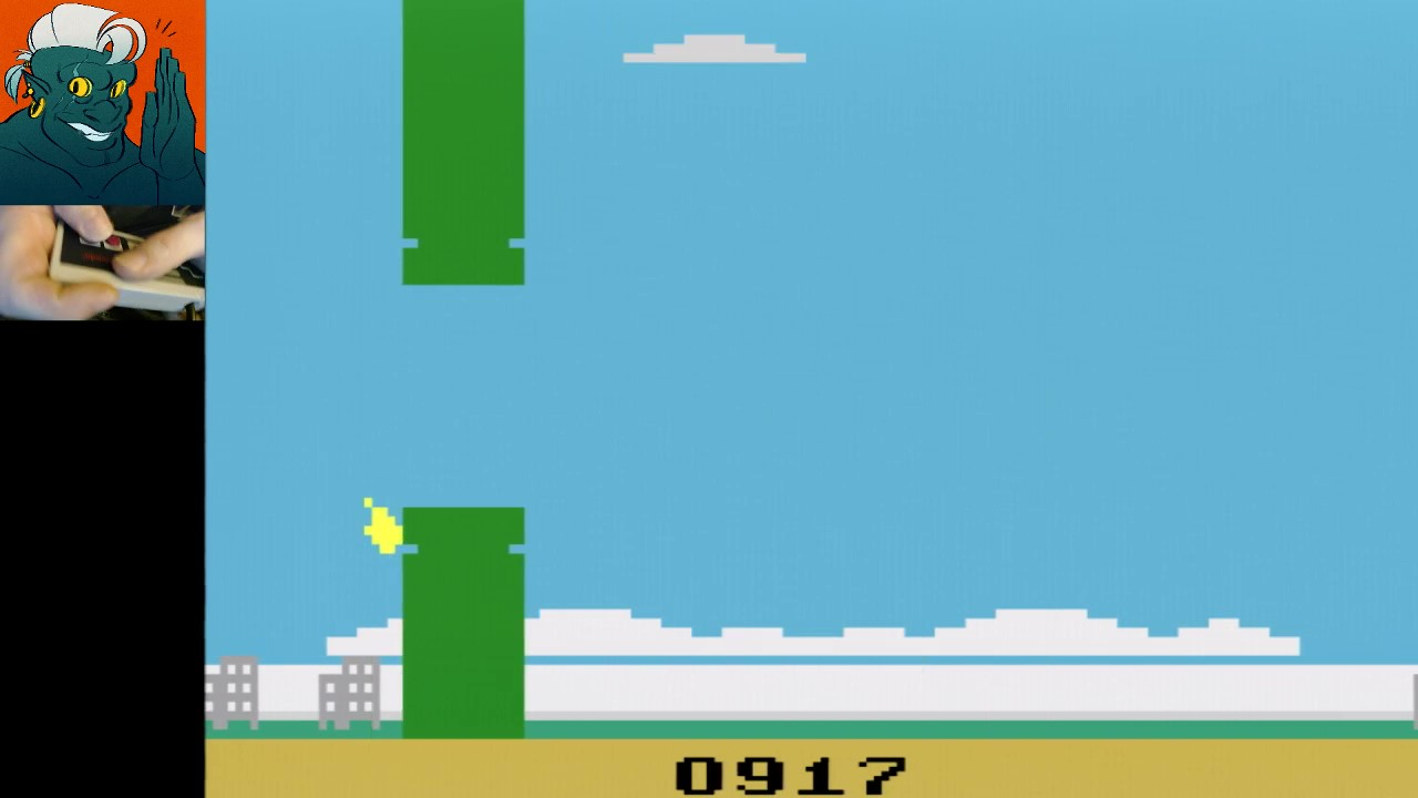 Flappy 917 points