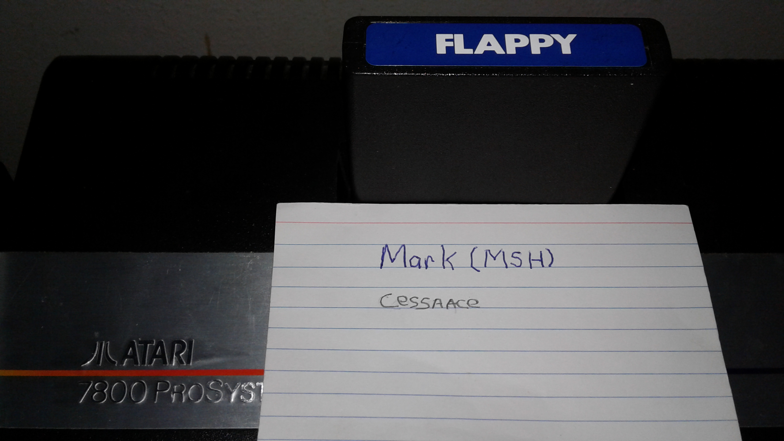 Mark: Flappy (Atari 2600) 4 points on 2019-03-26 03:41:56