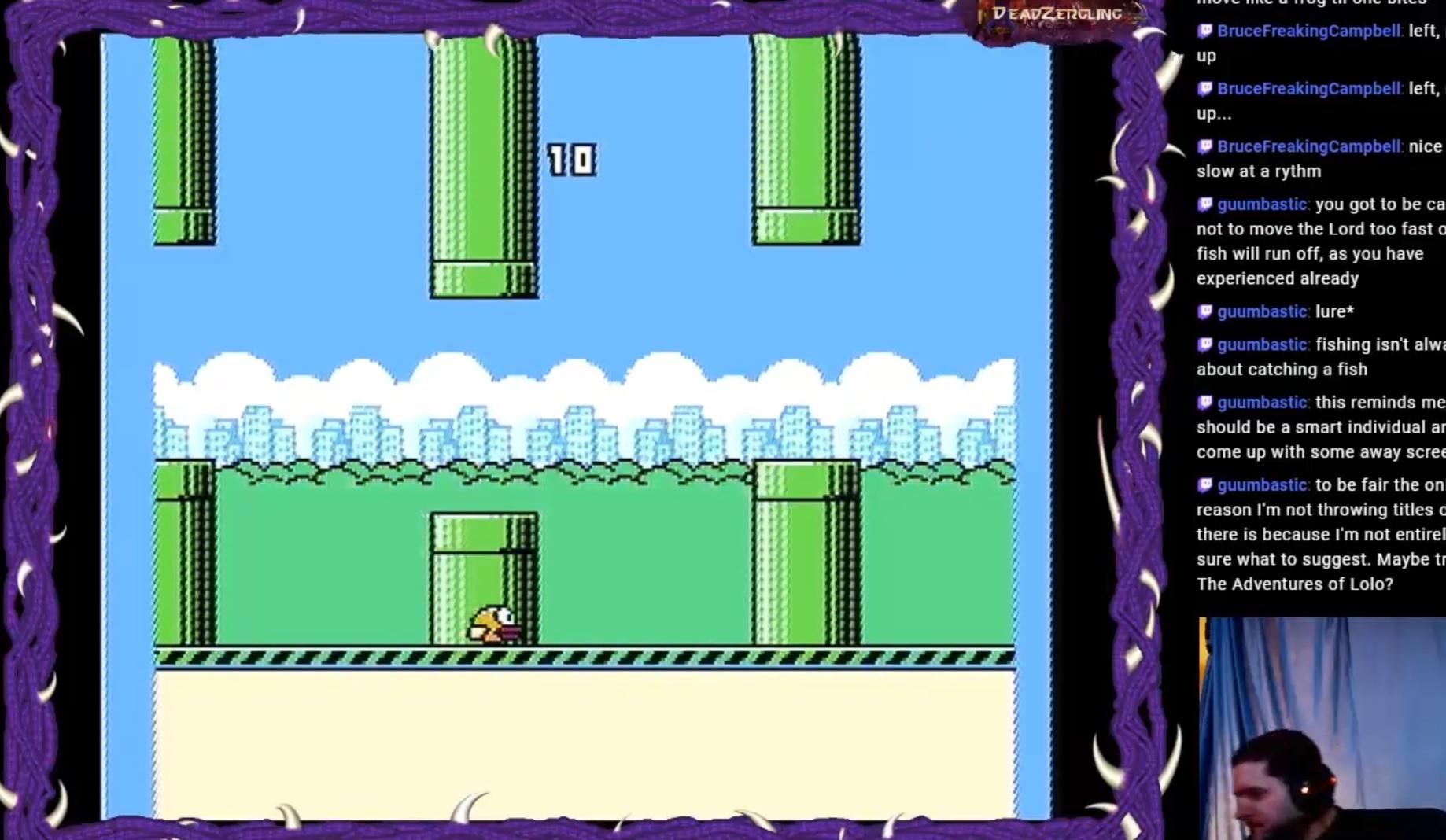 Flappy Bird 10 points