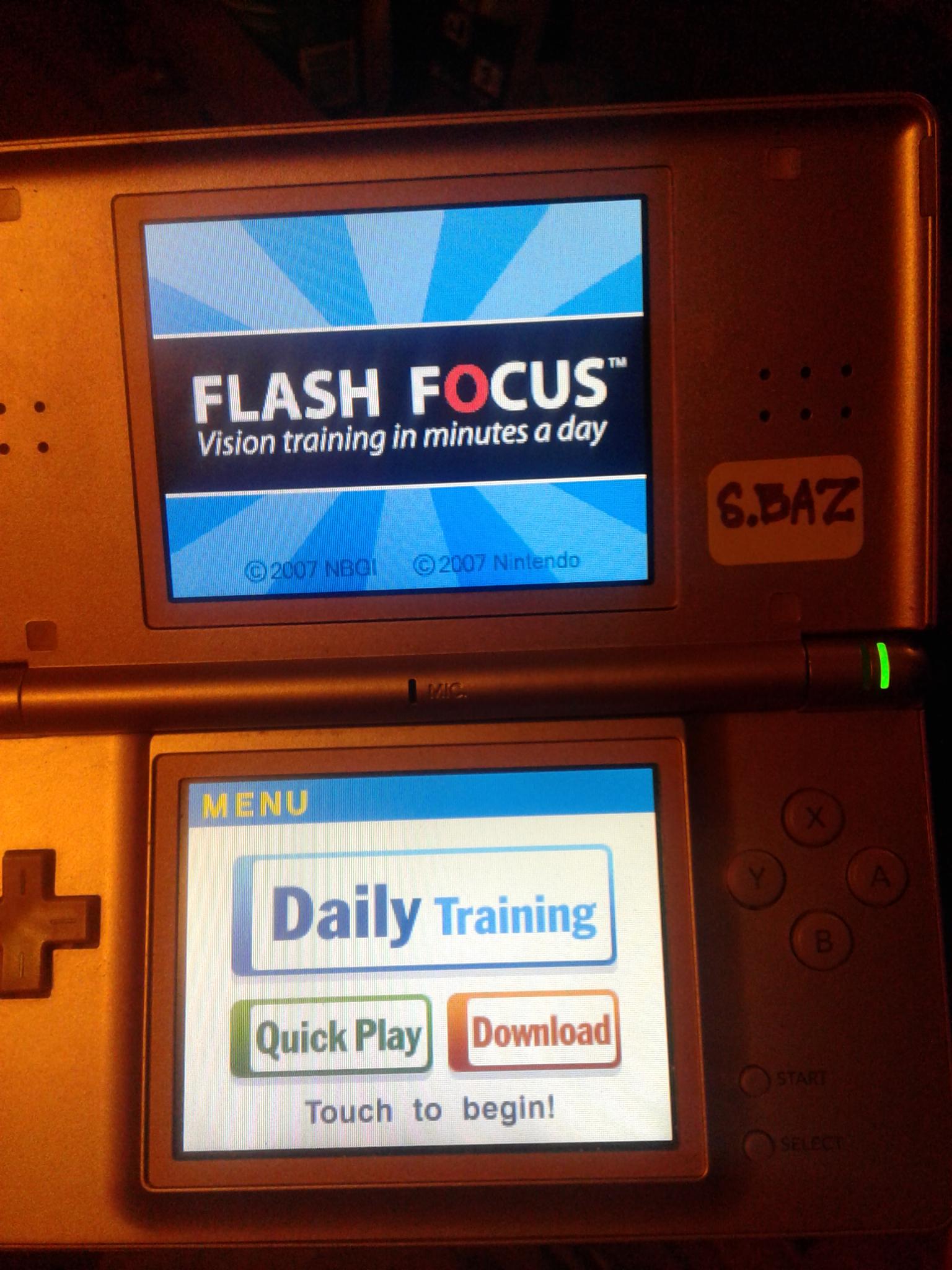 S.BAZ: Flash Focus: Symbol Order (Nintendo DS) 88 points on 2020-07-25 18:35:01