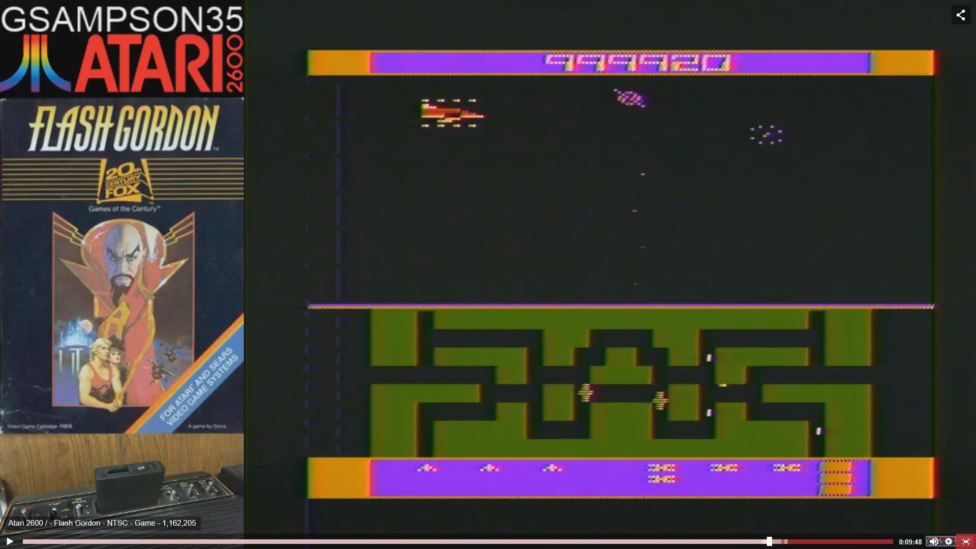 Flash Gordon 1,162,205 points
