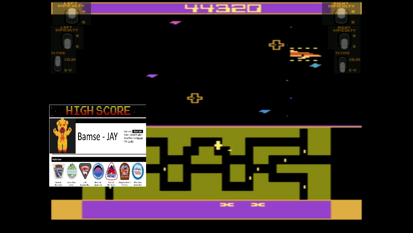 Bamse: Flash Gordon (Atari 2600 Emulated Expert/A Mode) 44,320 points on 2019-11-20 15:19:18