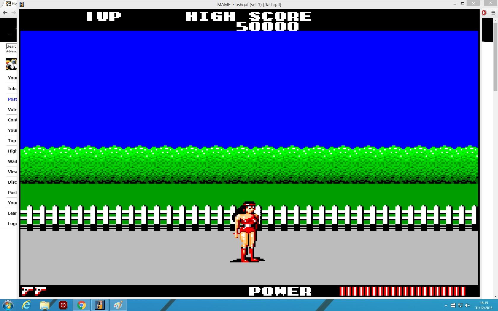 lenny2571: Flashgal [flashgal] (Arcade Emulated / M.A.M.E.) 27,540 points on 2015-12-31 09:16:00