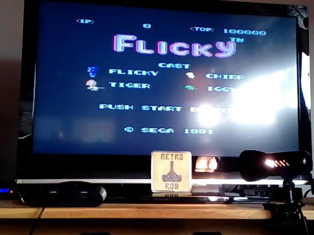 RetroRob: Flicky (Sega Genesis / MegaDrive Emulated) 24,690 points on 2020-03-06 11:03:32