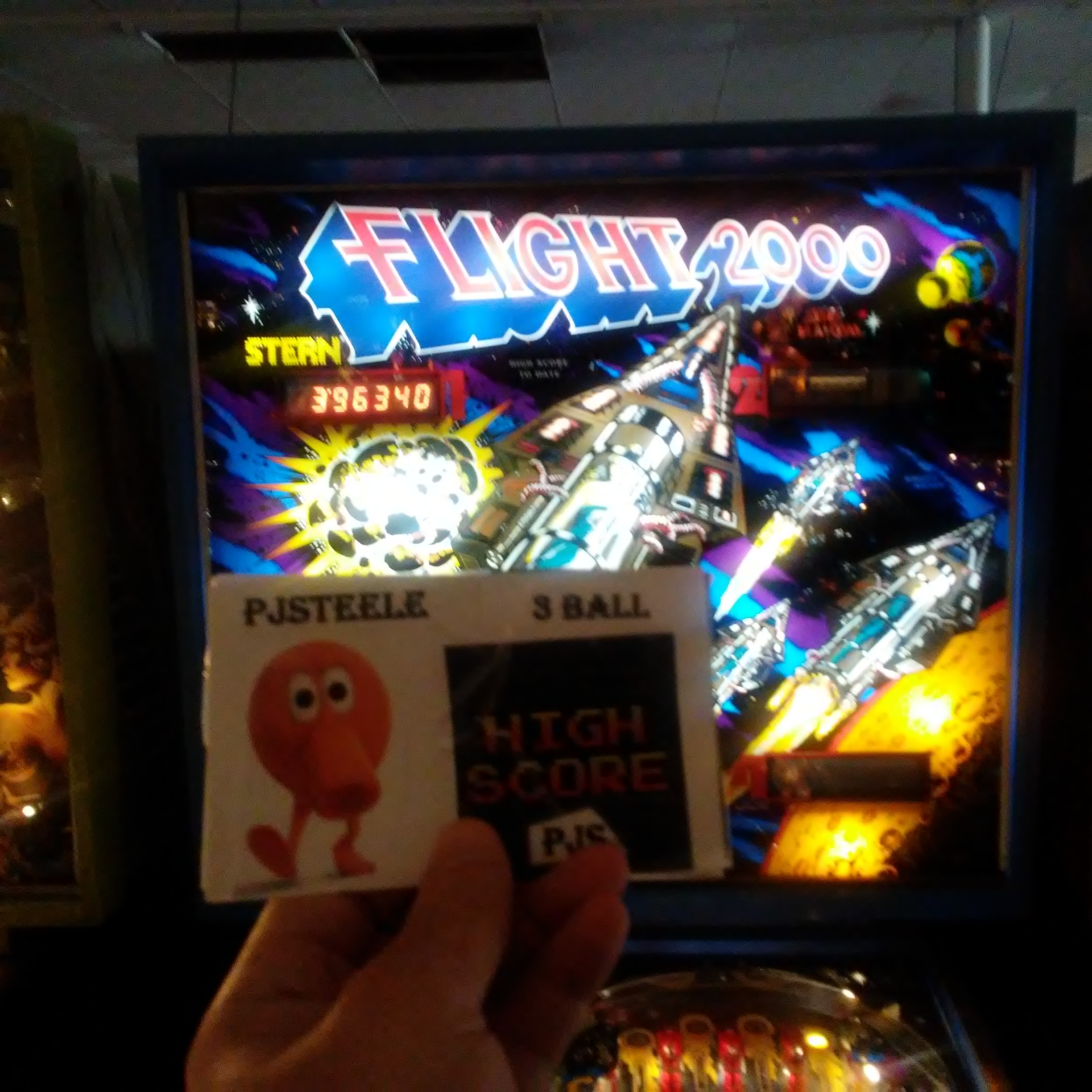 Pjsteele: Flight 2000 (Pinball: 3 Balls) 396,340 points on 2018-03-03 21:39:50