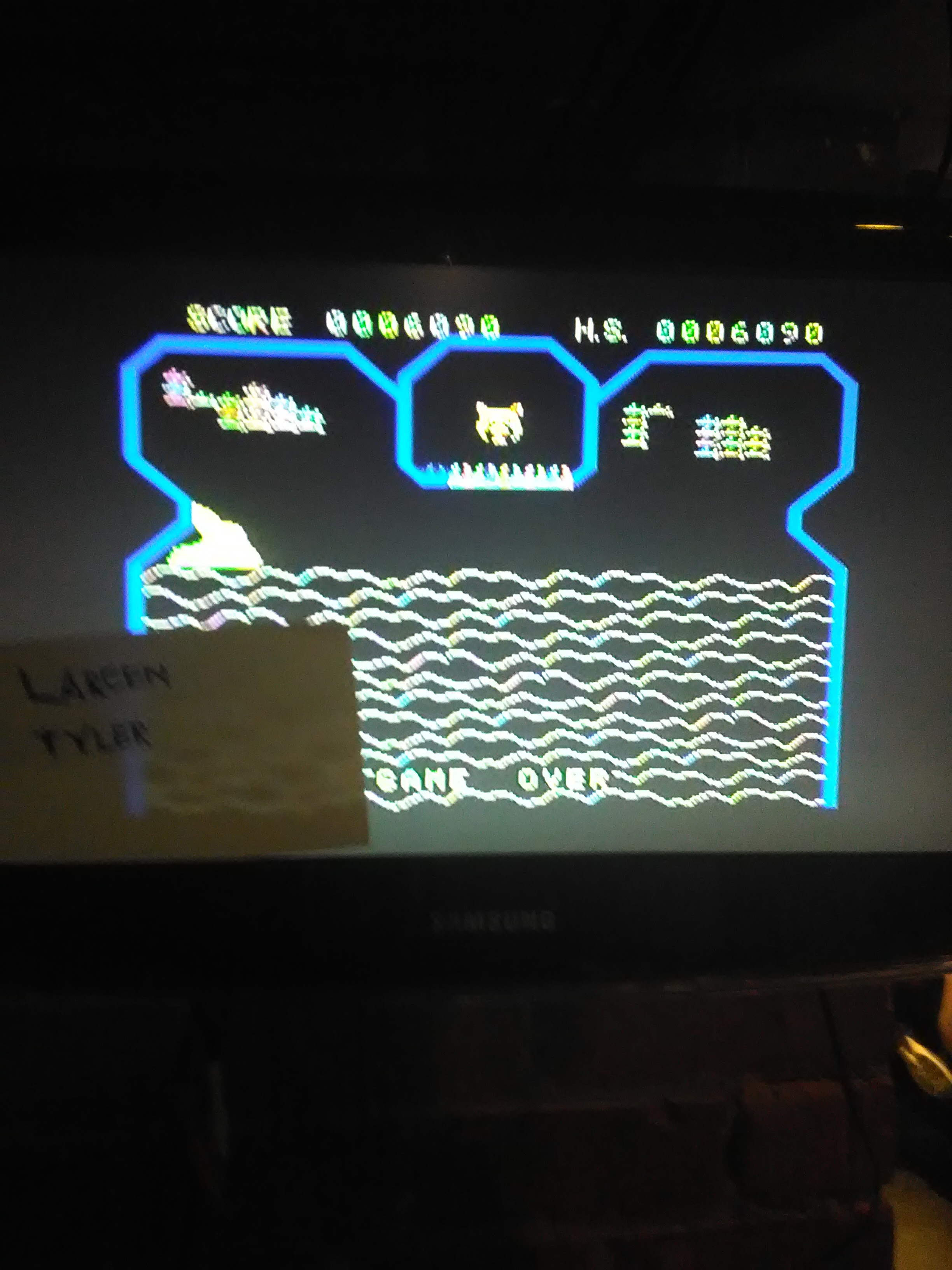 LarcenTyler: Flipper Slipper (Colecovision Flashback) 6,090 points on 2016-07-11 10:53:03