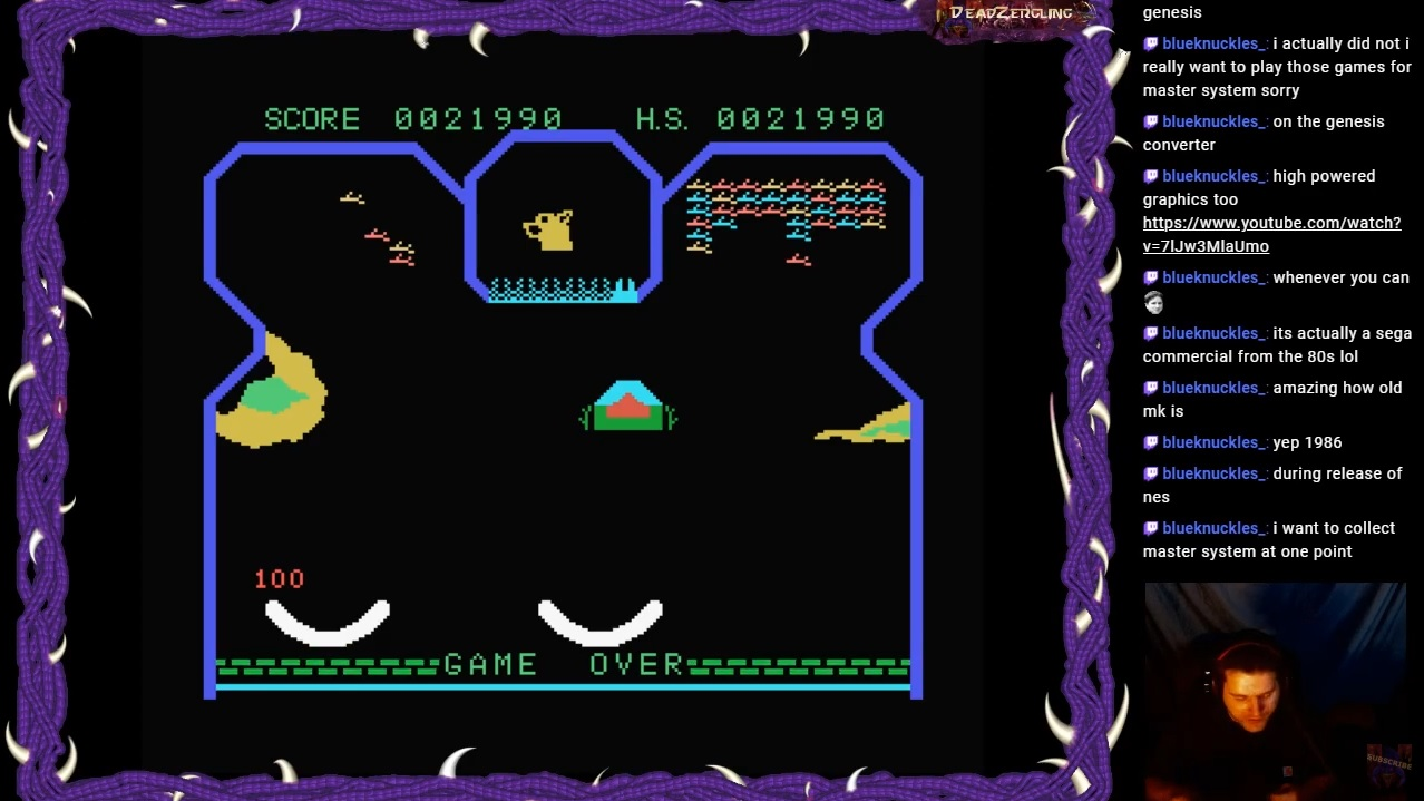 DeadZergling: Flipper Slipper: Skill 1 (Colecovision Emulated) 21,990 points on 2020-04-03 06:39:33