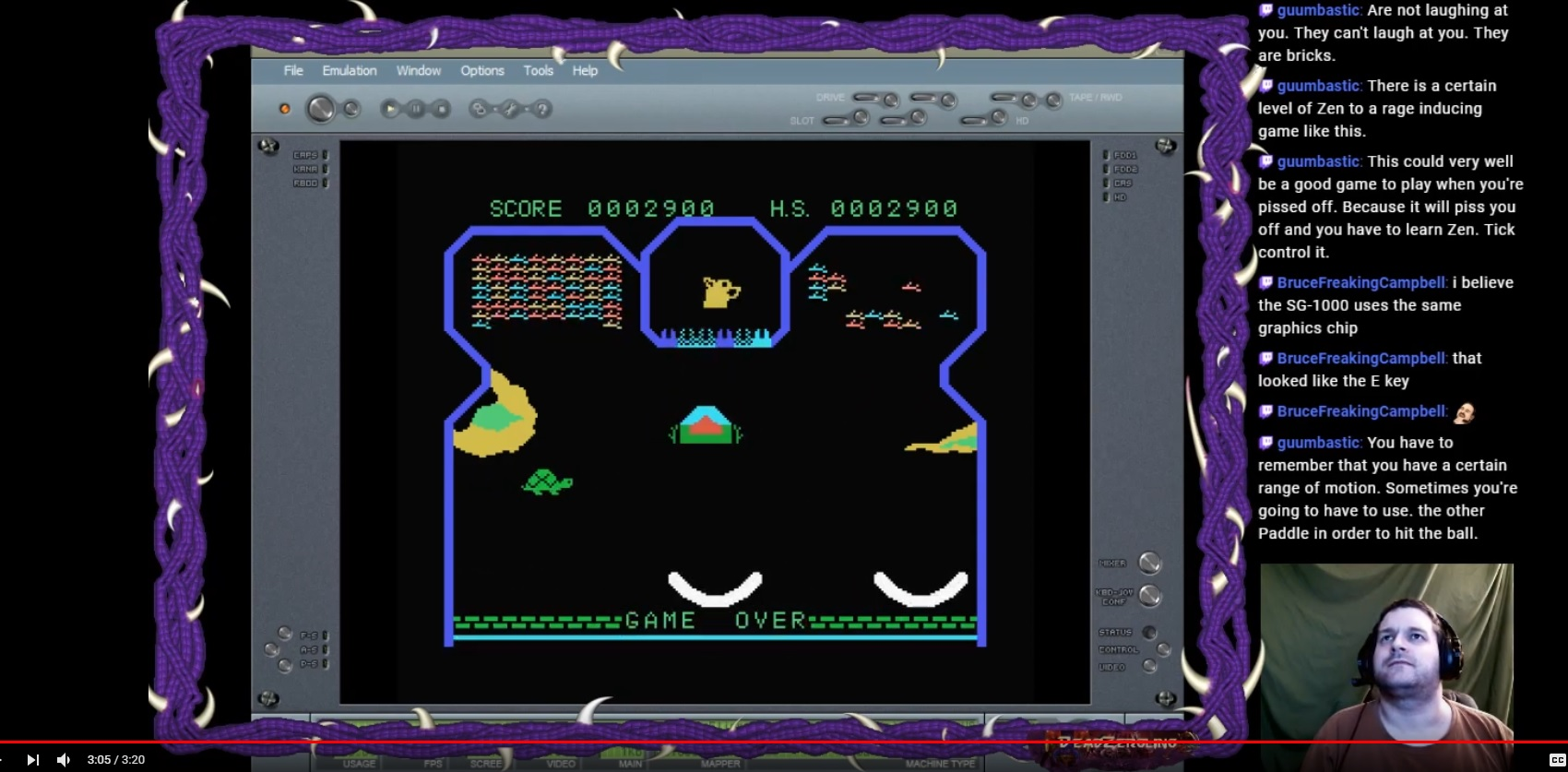 DeadZergling: Flipper Slipper: Skill 3 (Colecovision Emulated) 2,900 points on 2020-02-24 03:37:27