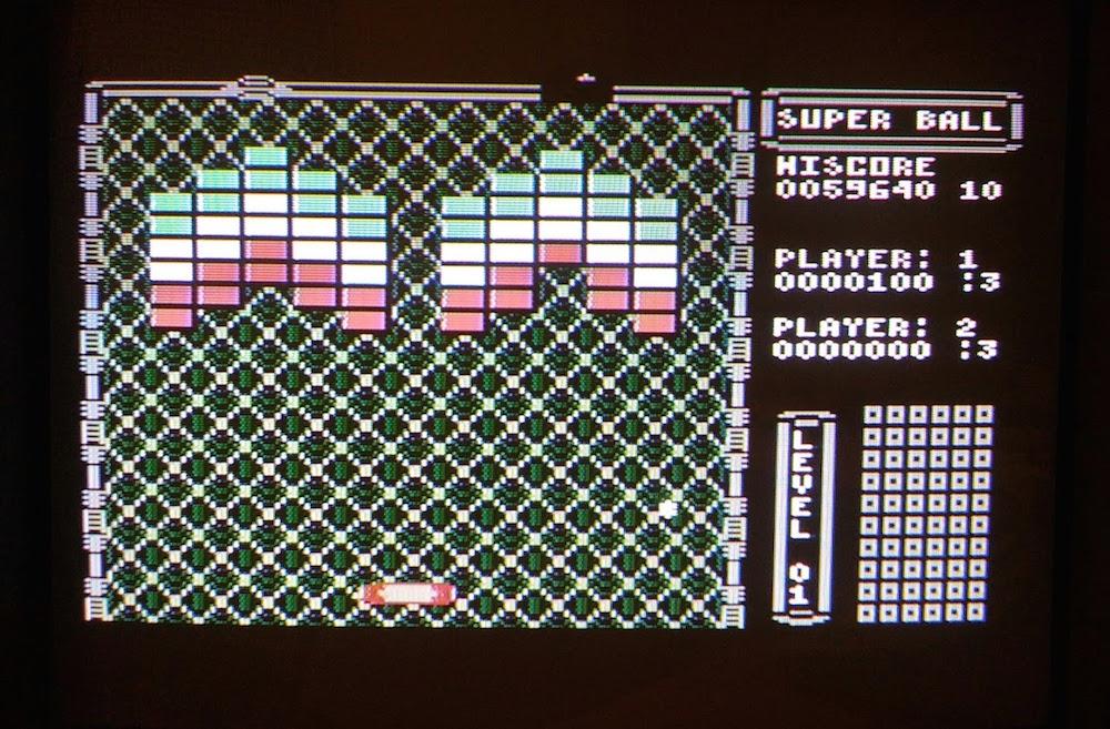 SHiNjide: Flop Super Ball (Atari 400/800/XL/XE) 59,640 points on 2015-11-04 05:30:34