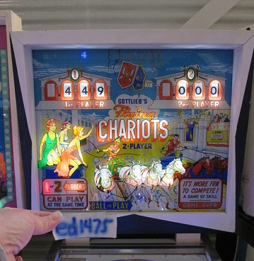 ed1475: Flying Chariots (Pinball: 3 Balls) 449 points on 2017-10-29 14:51:59