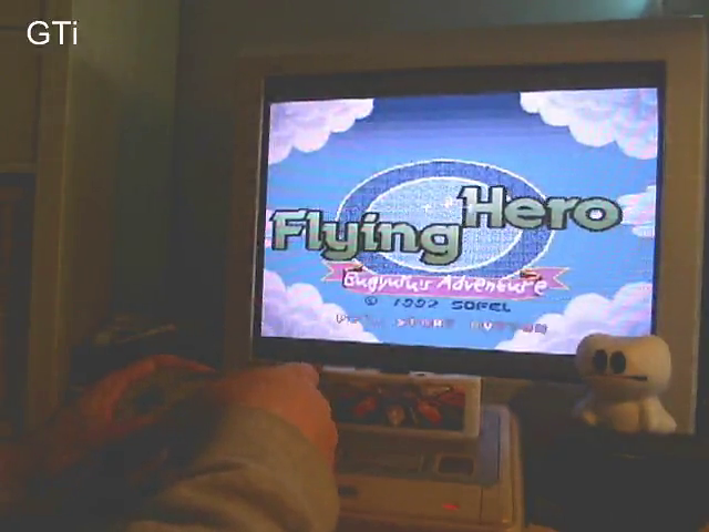GTibel: Flying Hero: Bugyuru no Daibouken (SNES/Super Famicom) 358,700 points on 2016-10-10 07:30:31