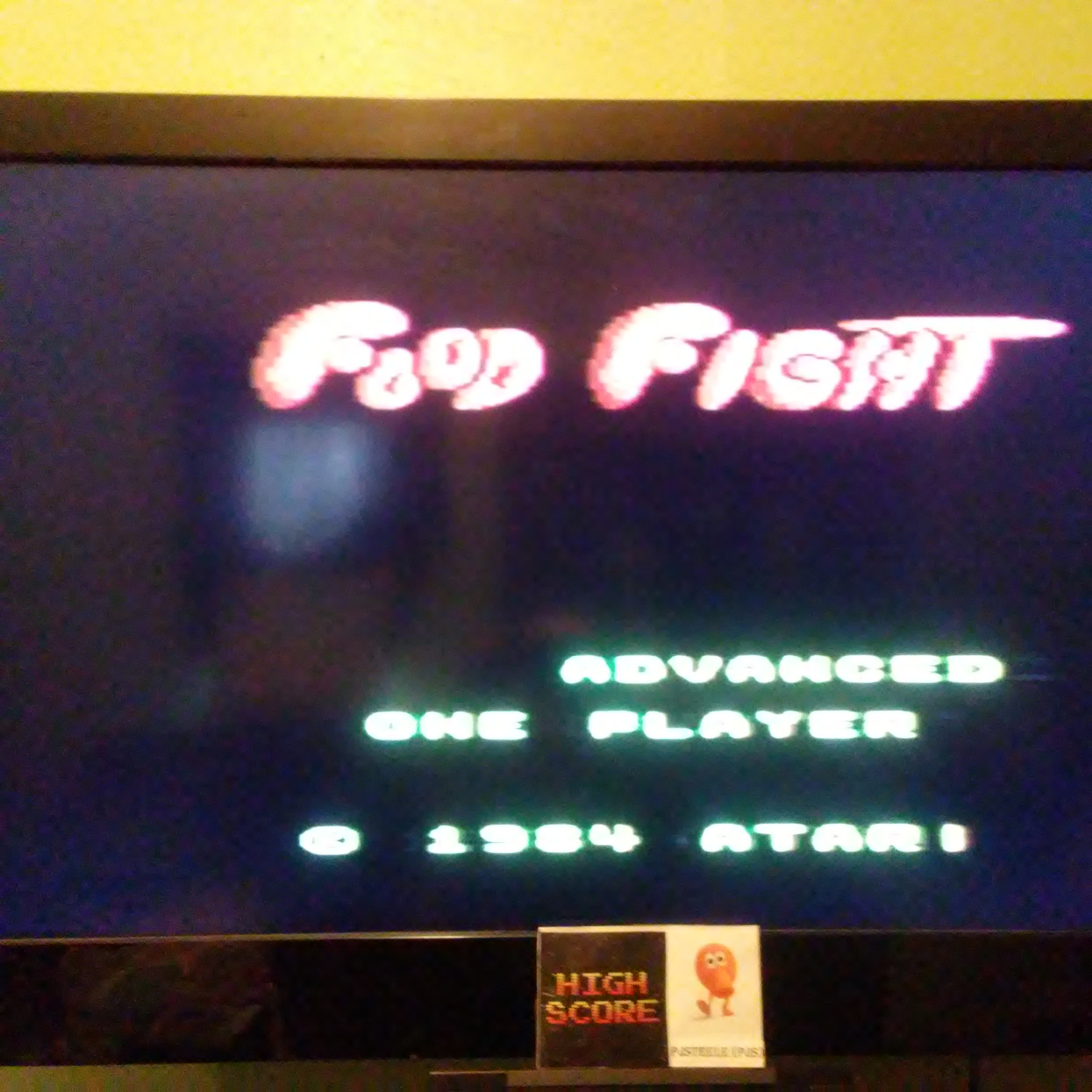 Food Fight: Advanced 171,500 points