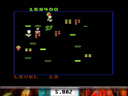 S.BAZ: Food Fight [Beginner] (Atari 400/800/XL/XE Emulated) 159,400 points on 2016-04-22 11:27:39