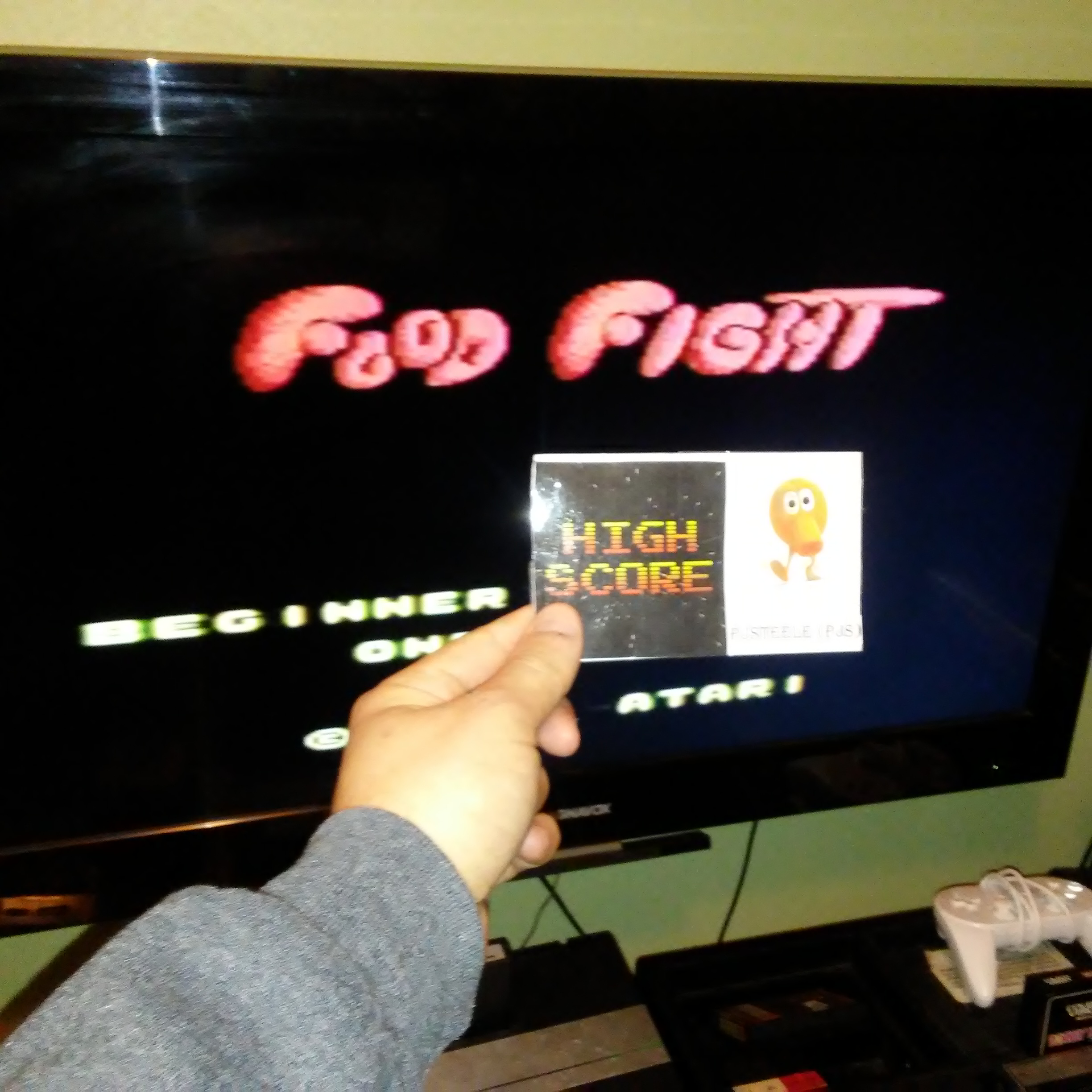 Food Fight: Beginner 8,010,200 points