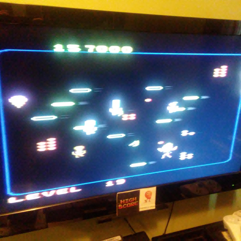 Pjsteele: Food Fight: Expert (Atari 7800) 157,000 points on 2018-03-21 13:04:45