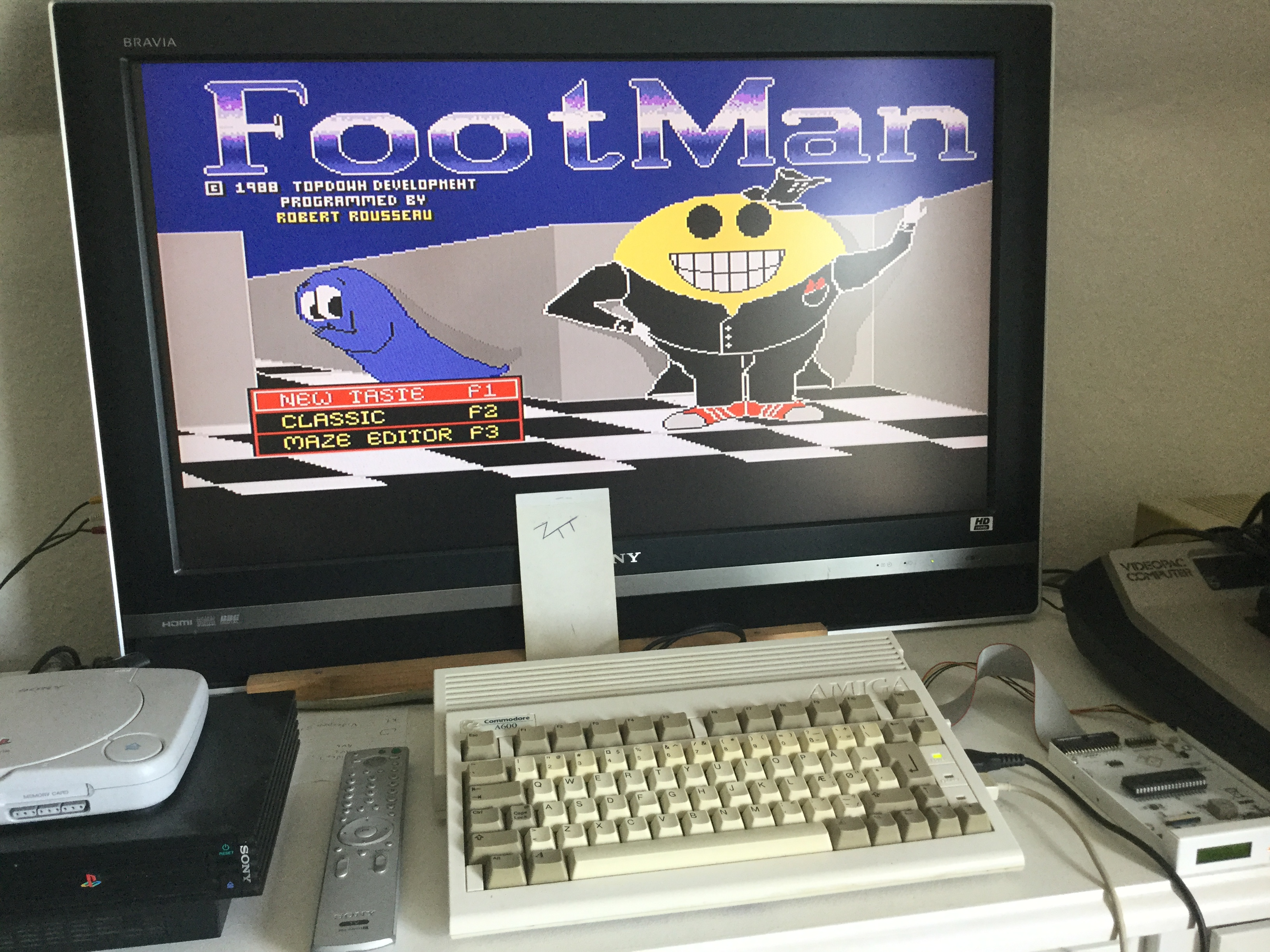Frankie: FootMan (Amiga) 69,970 points on 2019-06-30 04:49:45