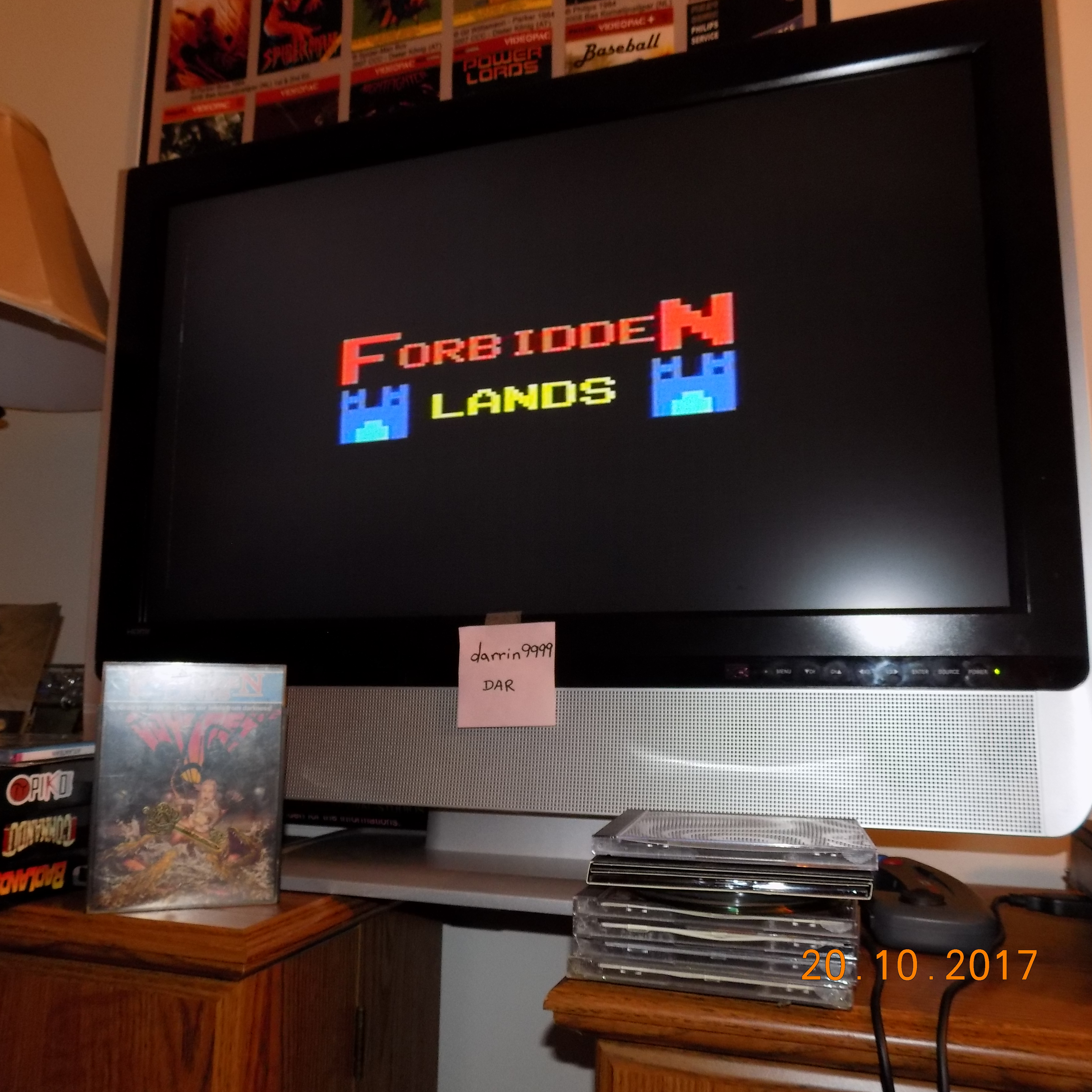 darrin9999: Forbidden Lands (Odyssey 2 / Videopac) 732 points on 2018-03-14 14:48:44