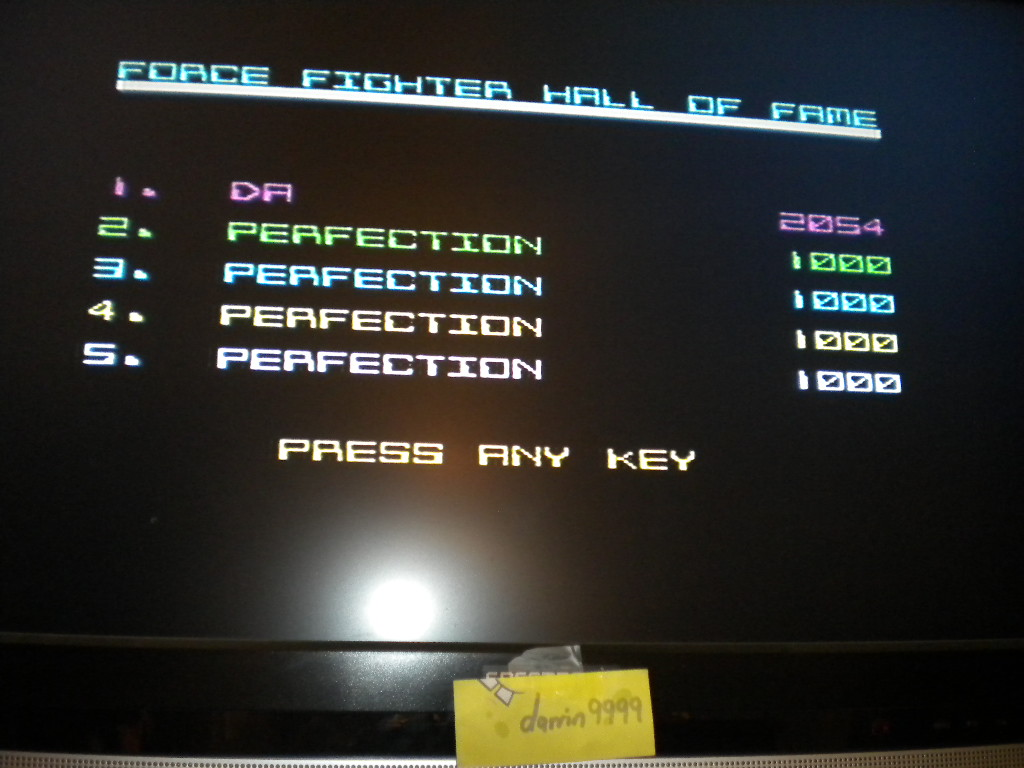 Force Fighter 2,054 points