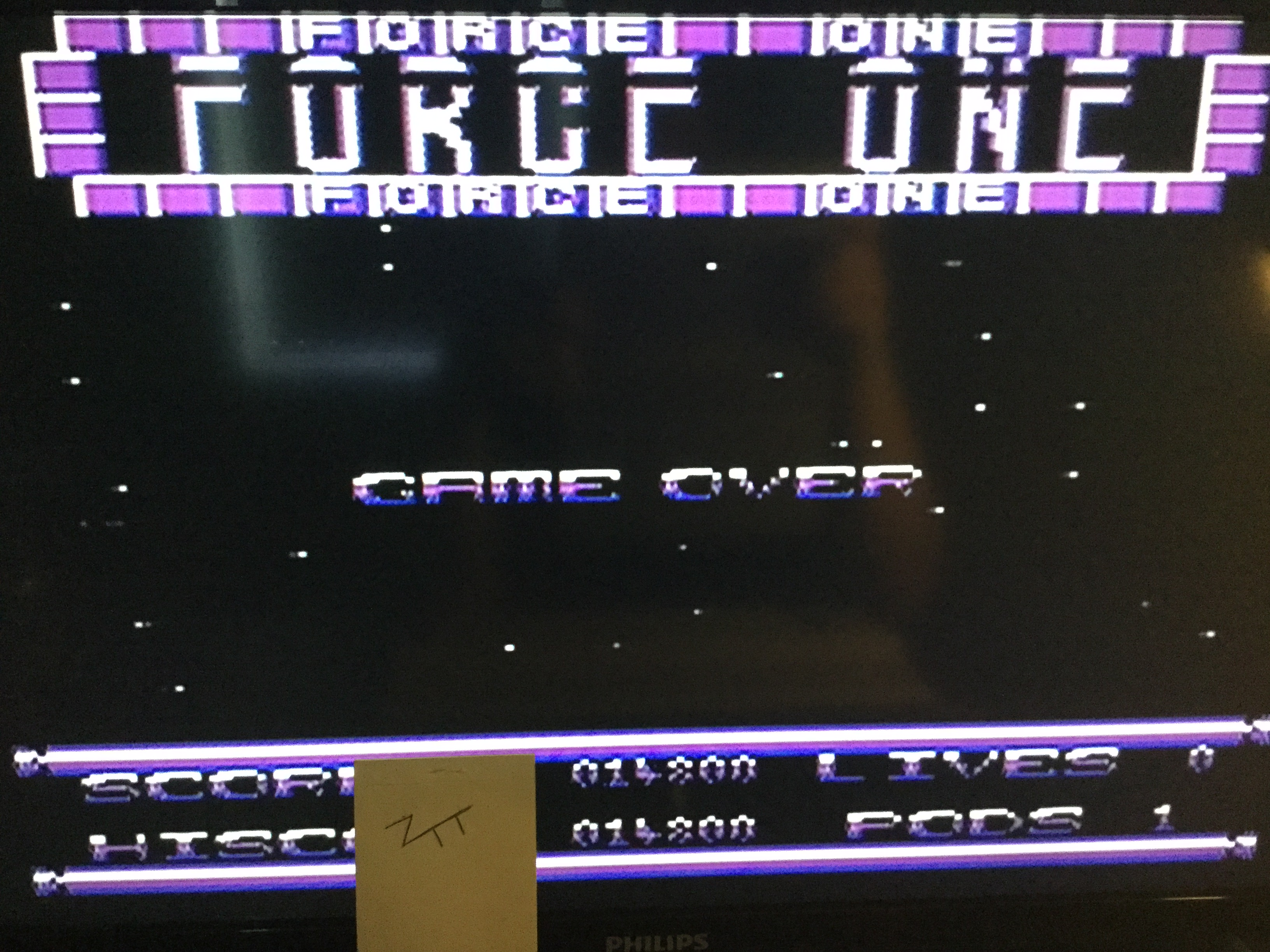 Frankie: Force One (Commodore 64) 14,800 points on 2019-06-01 12:12:01